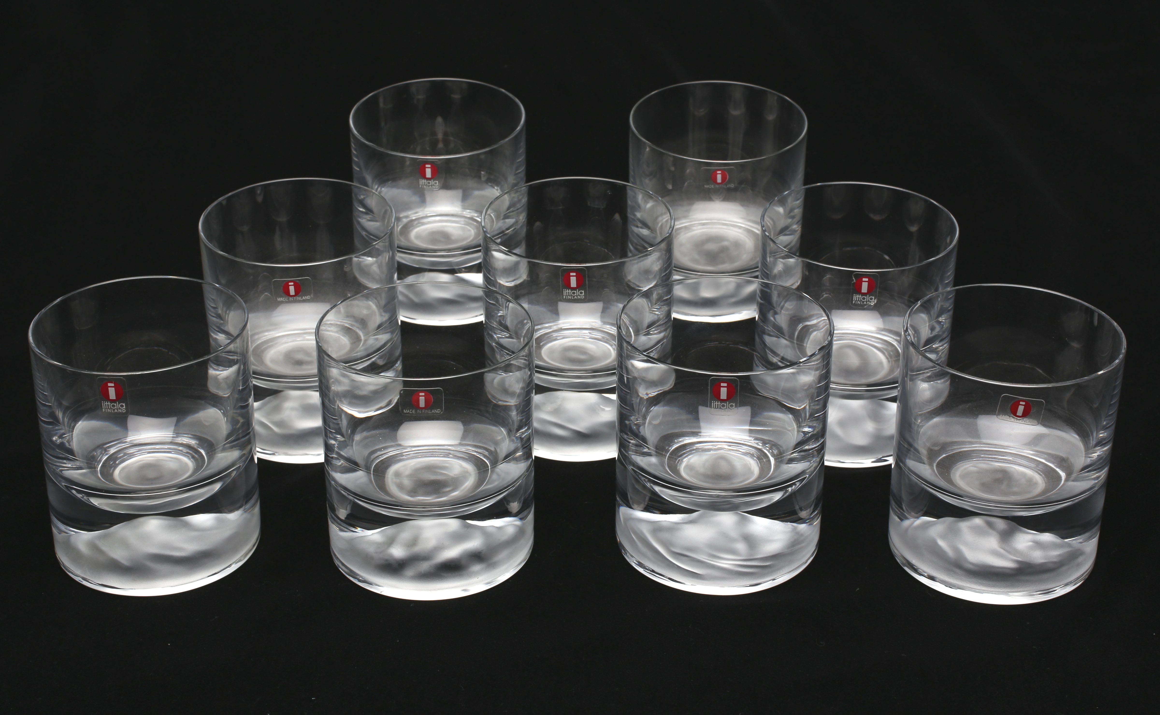 bilder f r 179549 glas himalaya iittala 9 st auctionet. Black Bedroom Furniture Sets. Home Design Ideas