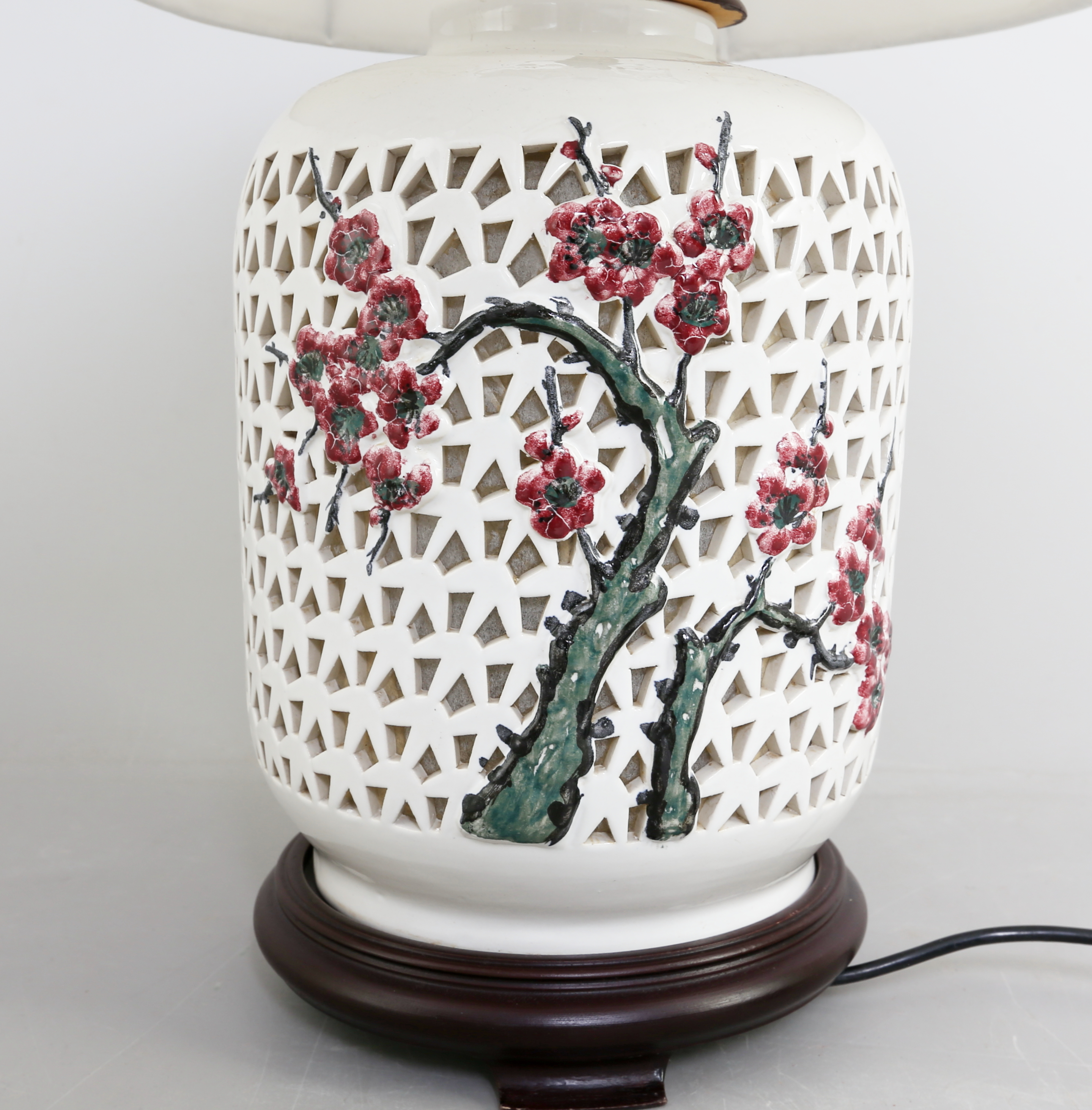 bordslampa porslin
