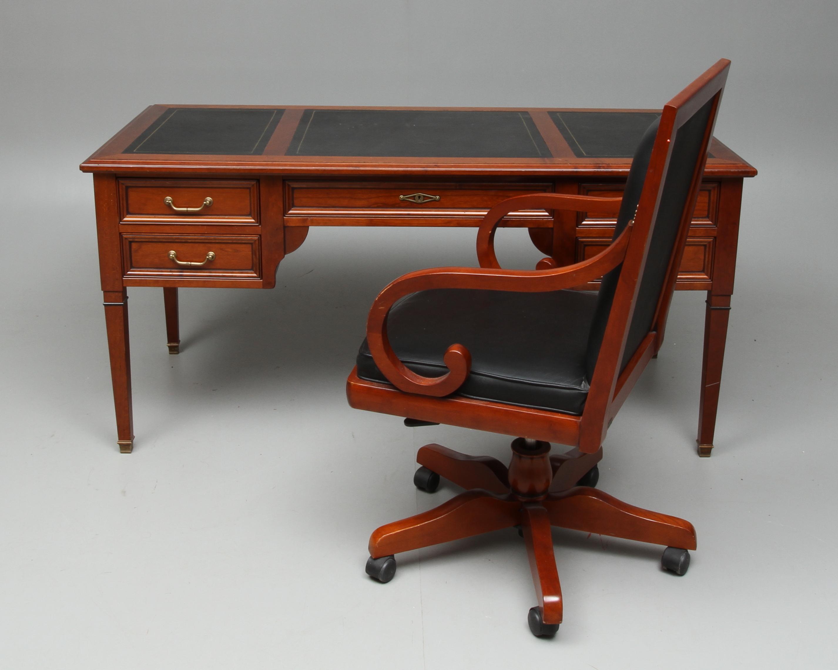 skrivbordsstol engelsk stil