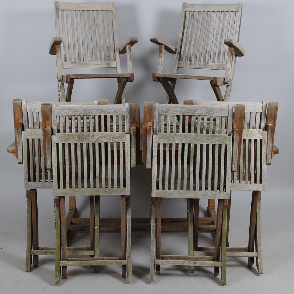 Tradgardsgrupp Teak Brafab Furniture Garden Furniture Auctionet