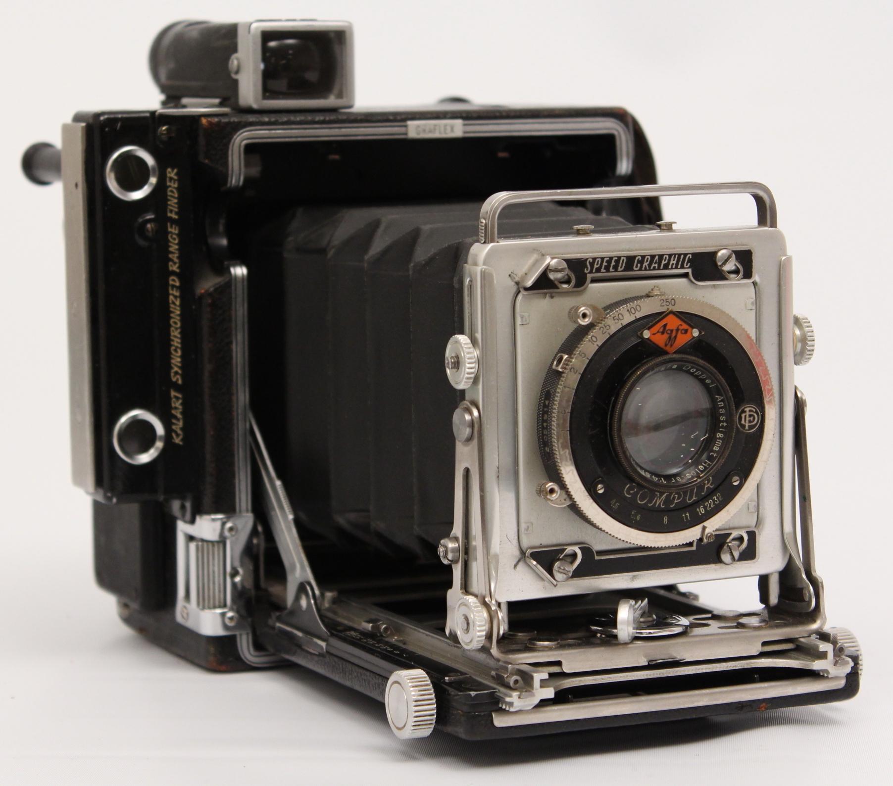 KAMERA, Graflex, speed graphic 45  Photo, Cameras & Lenses