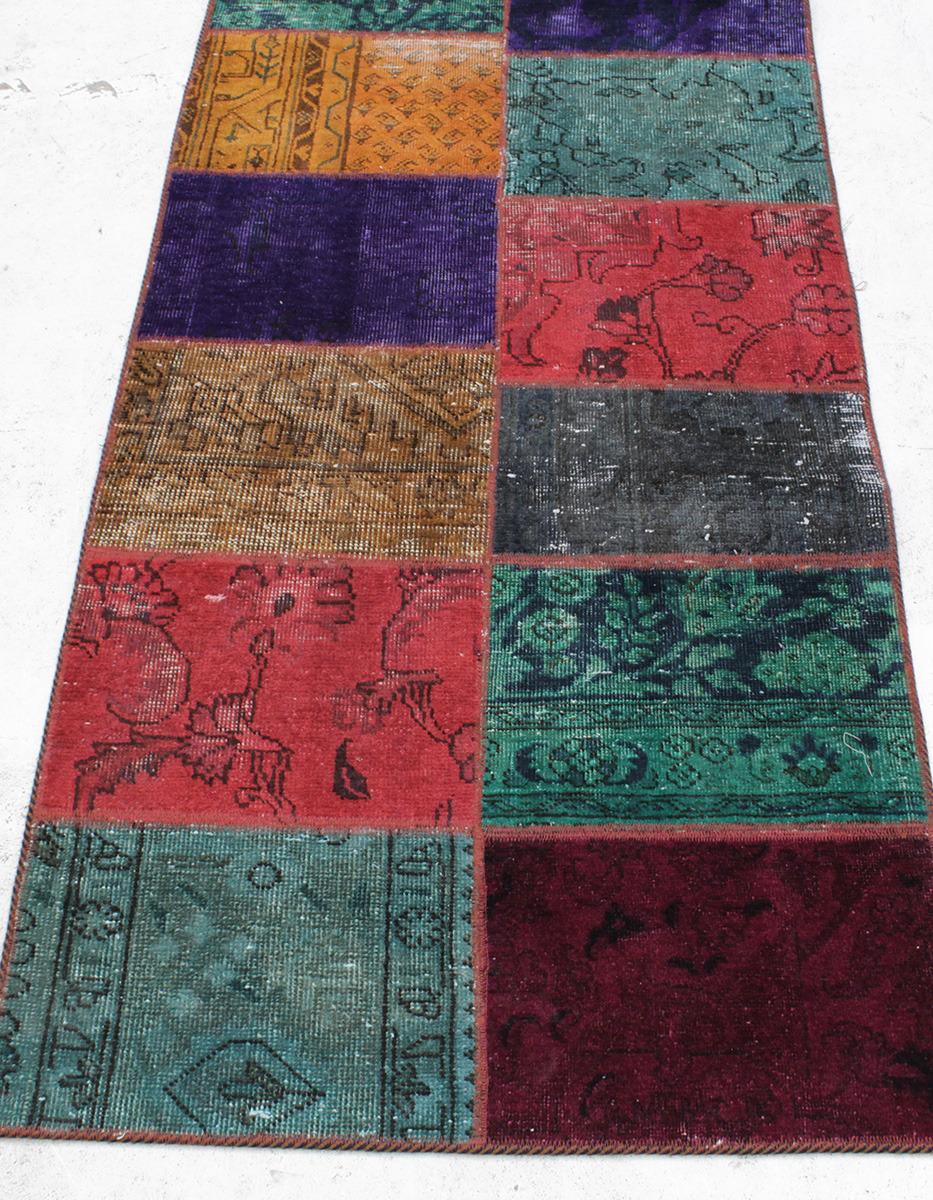 bilder f r 244972 matta patchwork gallerimodell 300 x 80 cm auctionet. Black Bedroom Furniture Sets. Home Design Ideas