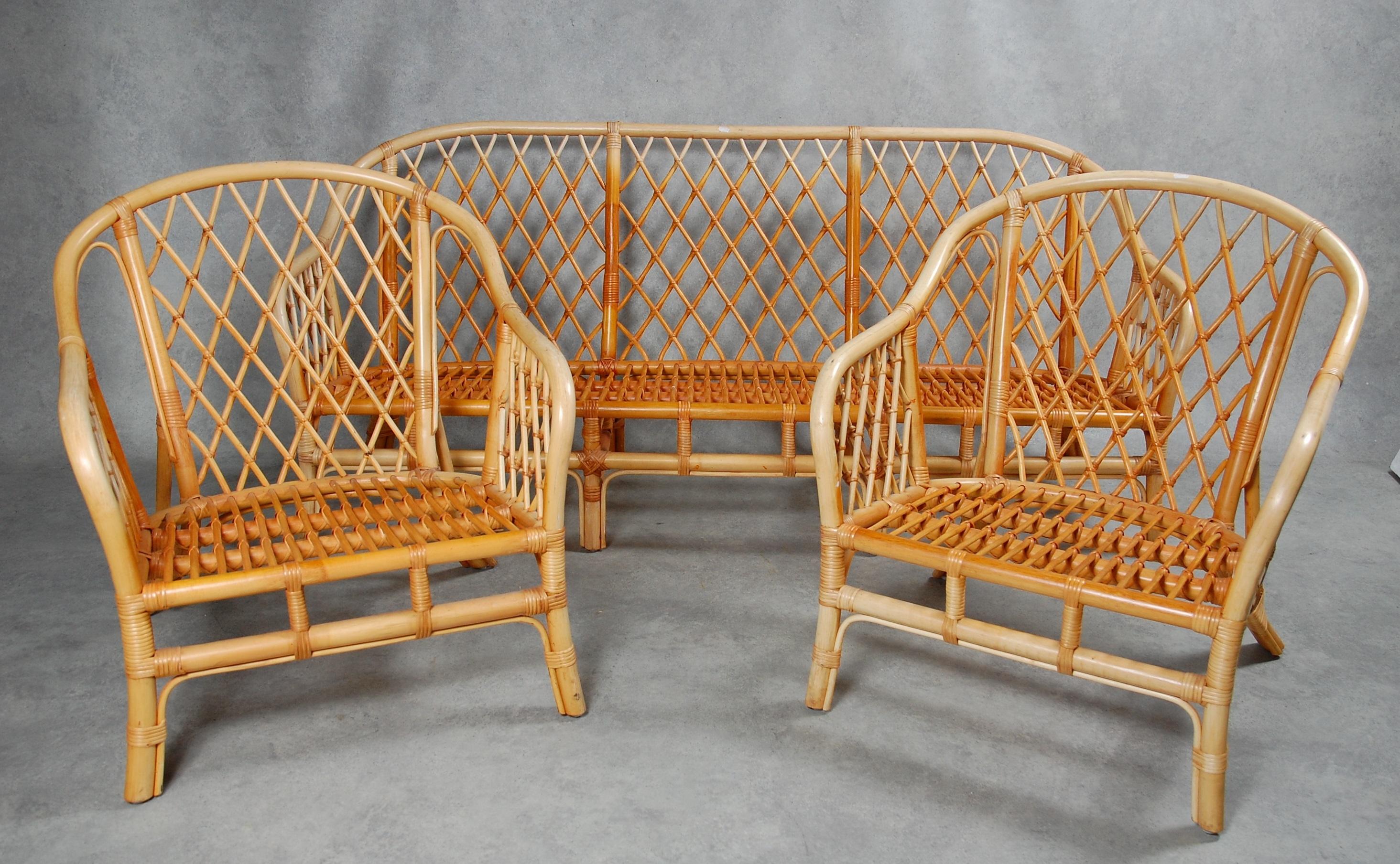 Tradgardsmoblemang 4 Delar Bambu Mobler Tradgardsmobler Auctionet