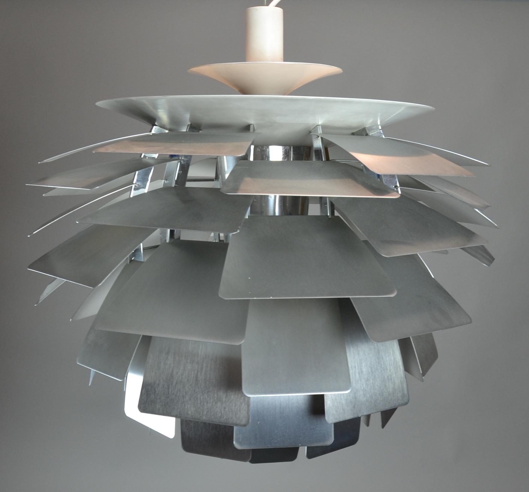 images for 290892 poul henningsen lampe artichoke auctionet. Black Bedroom Furniture Sets. Home Design Ideas