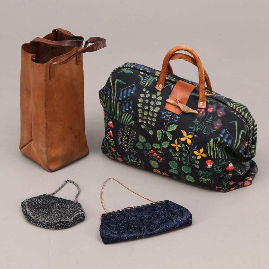 väskor i tyg