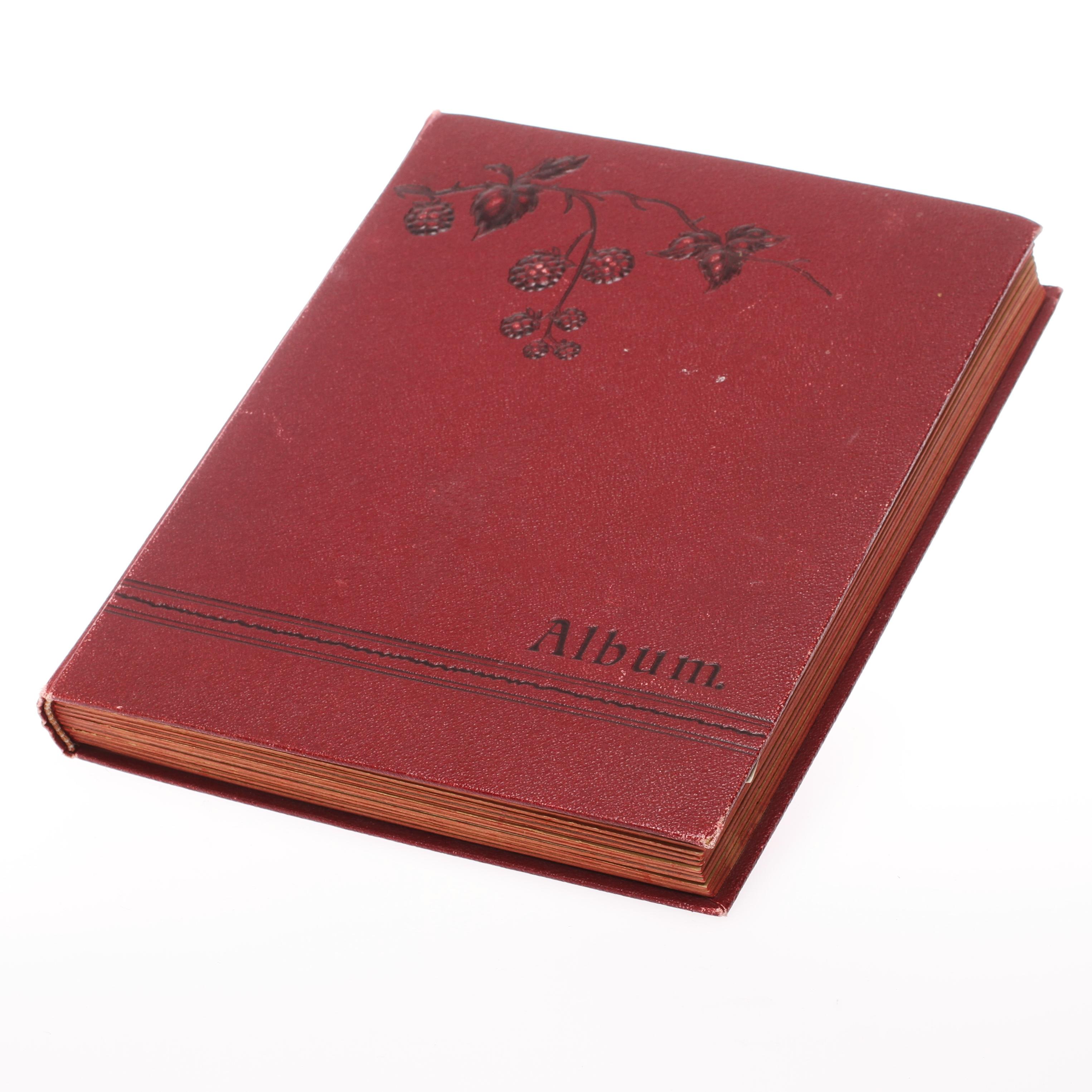Brevkortsalbum Ca 50 Kort Kungligheter Och Skadespelare 1900