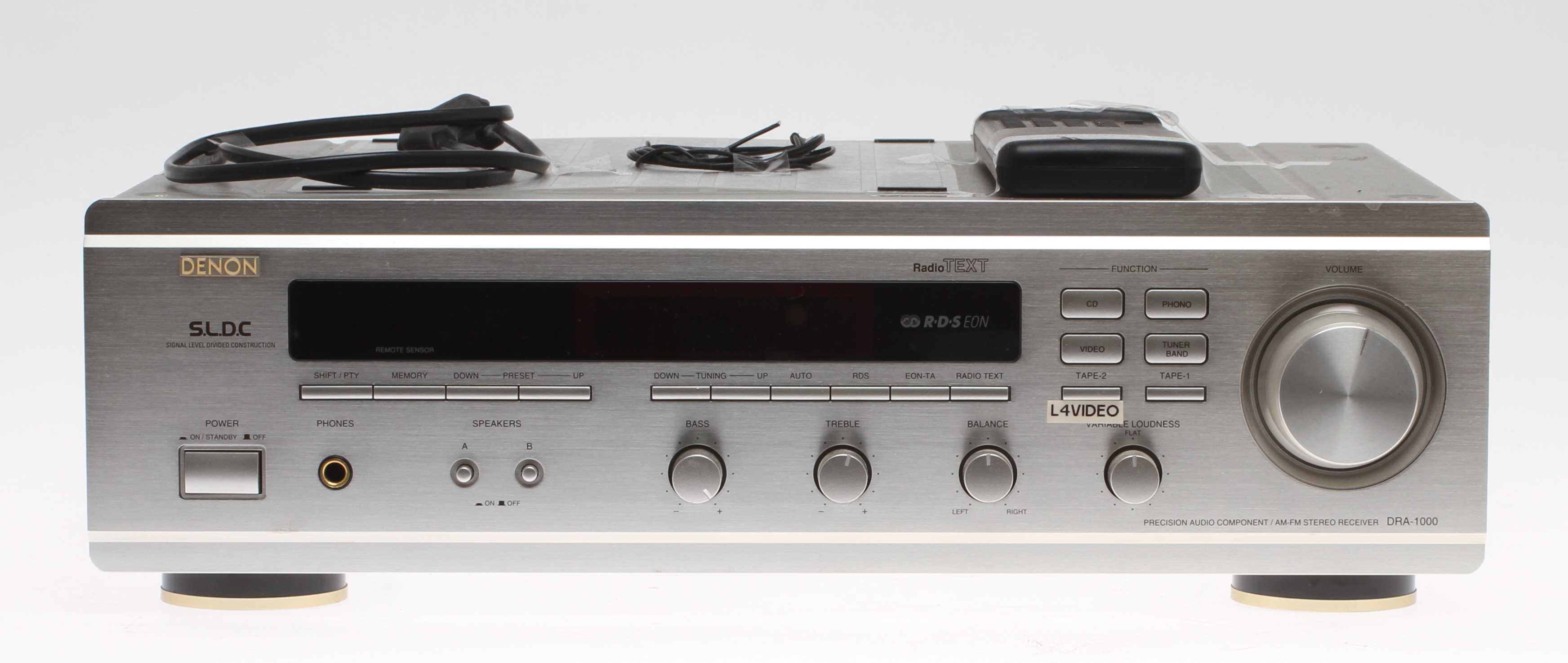 Bilder f r 36924 f rst rkare denon dra 1000 auctionet for What to dra