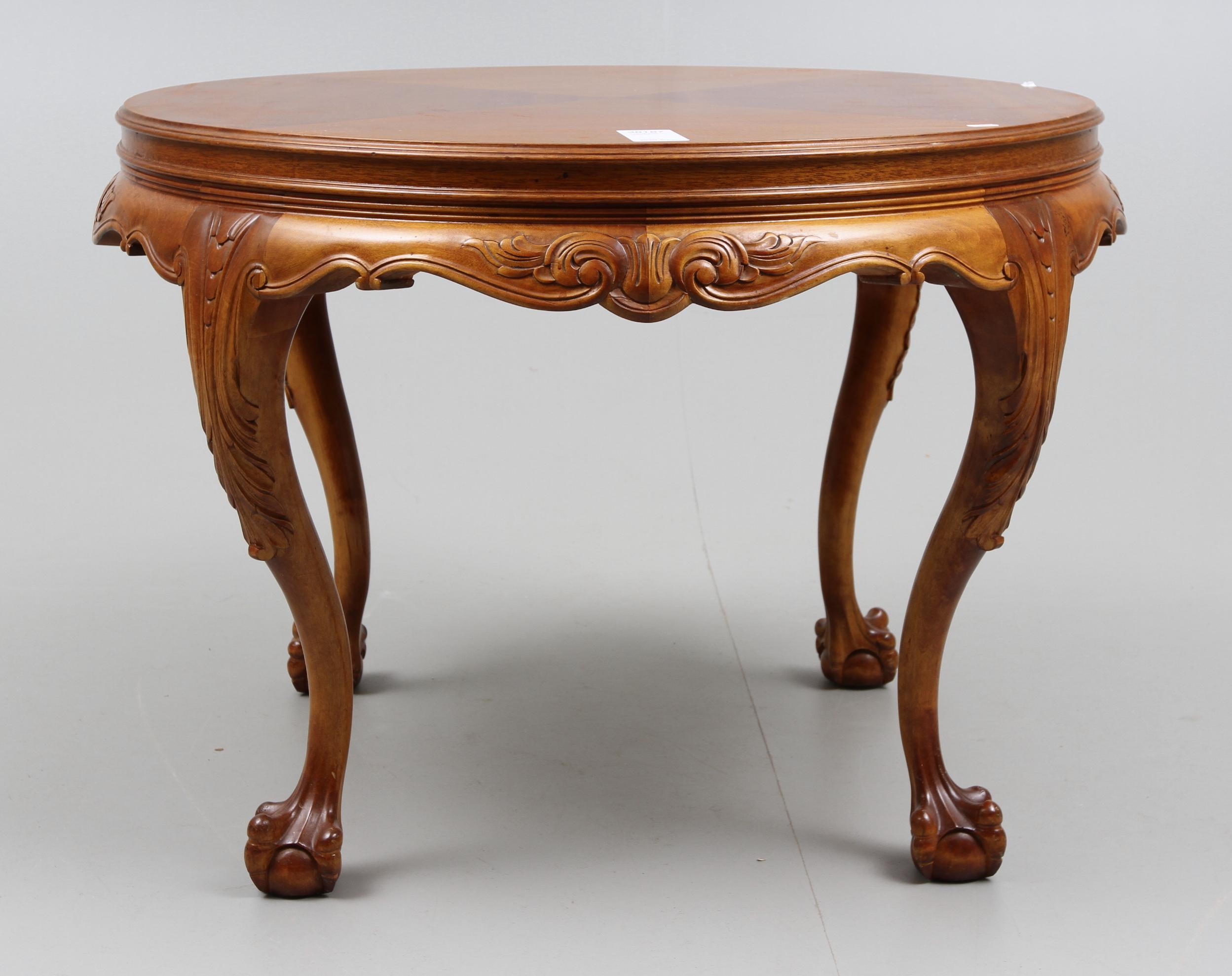 bilder f r 38187 soffbord chippendale stil 1900 tal. Black Bedroom Furniture Sets. Home Design Ideas