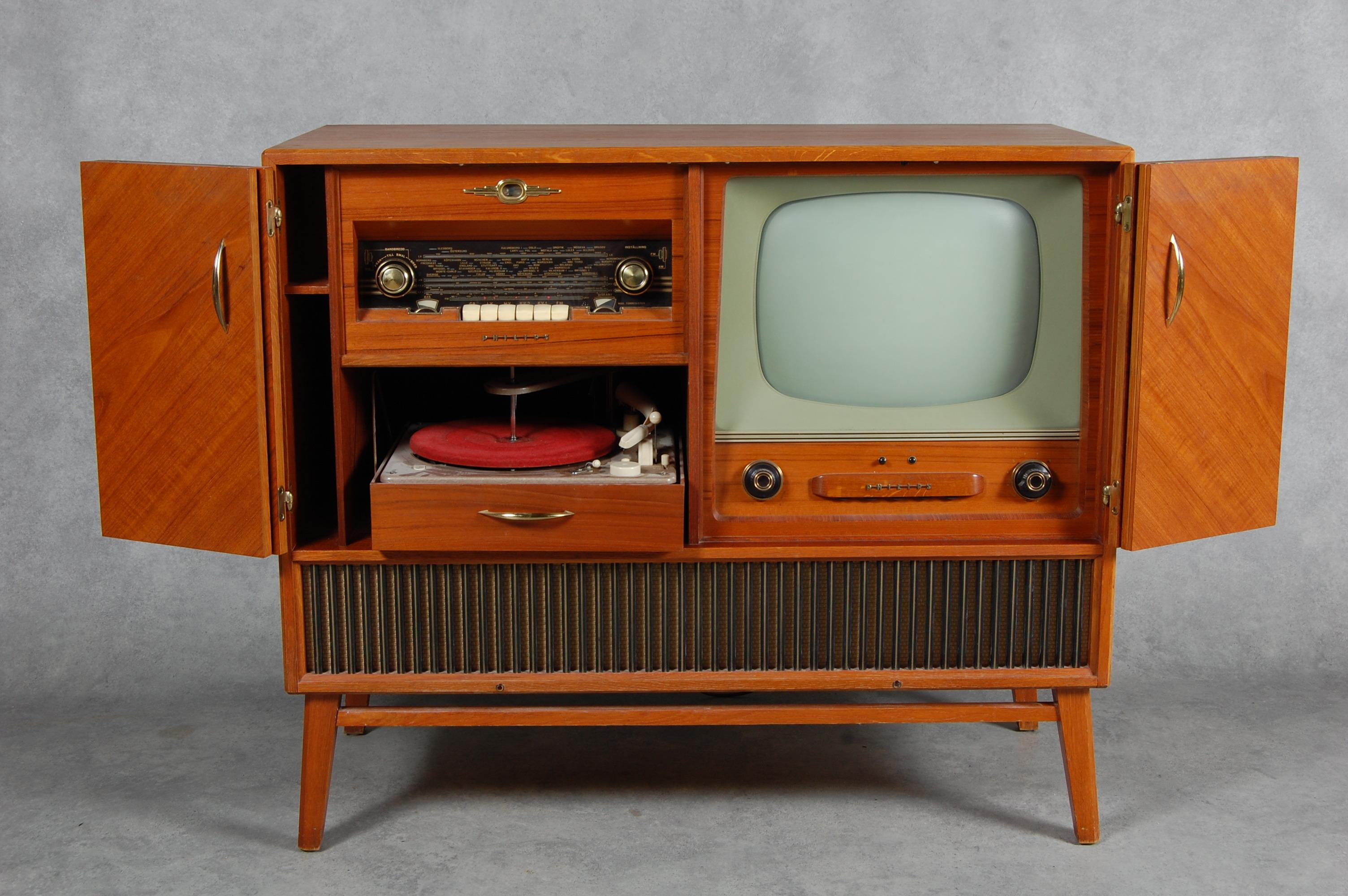 Tv Radio Meubel : Tv radio möbel philips tal other technica nautica auctionet