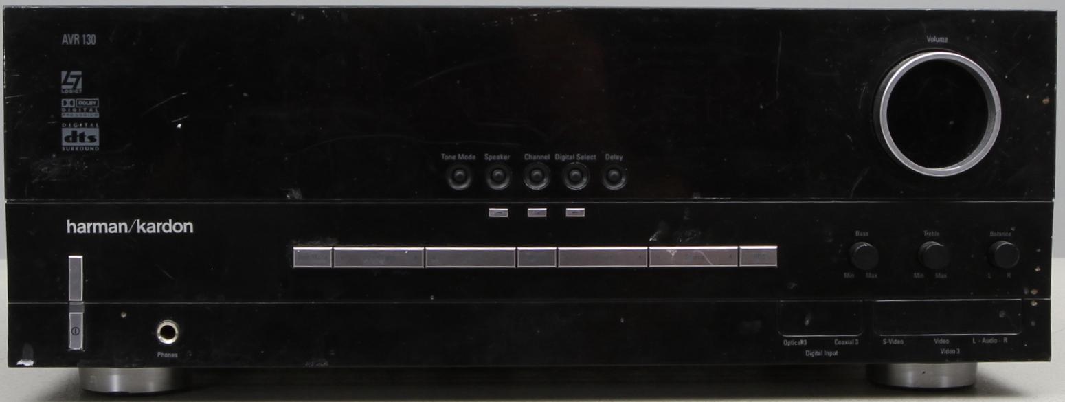 RECIEVER, Harman/Kardon AVR 130  Other - Modern consumer electronics