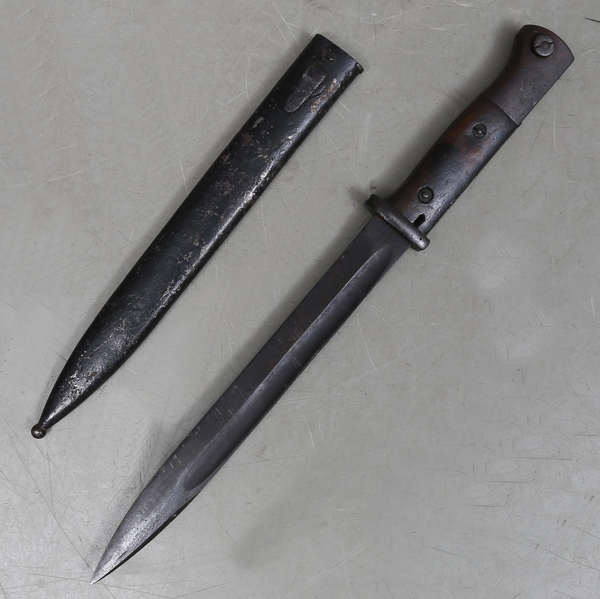 Bajonett K98 F Herder Tyskland Waffen Militaria Messer