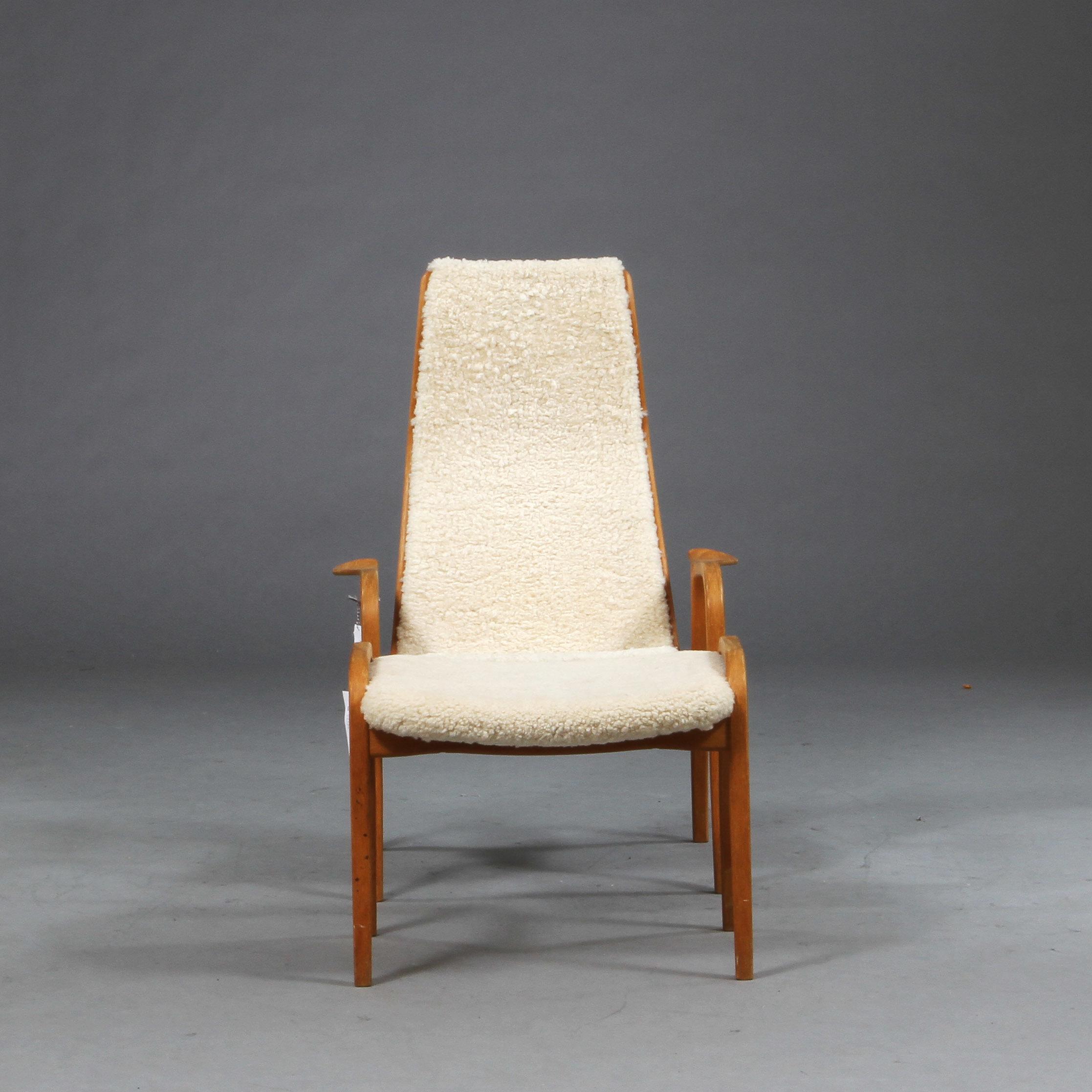 """Bilder för 591720 FåTÖLJ med FOTPALL""""Lamino"""", Yngve Ekström för Swedese Auctionet"""