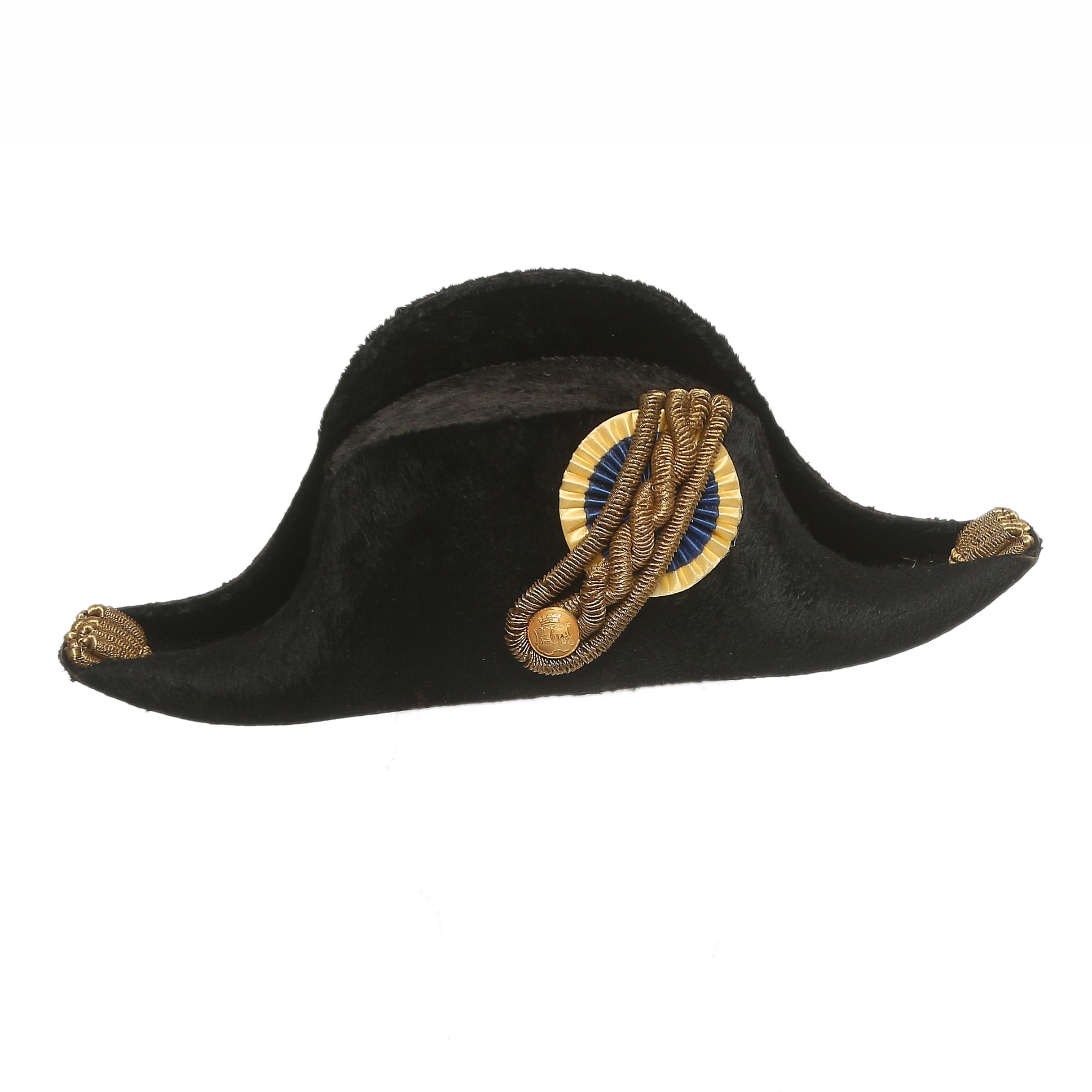 Images for 599283 BICORNE, med hattask i trä, Ericsson& Co Stockholm, 1800 tal Auctionet