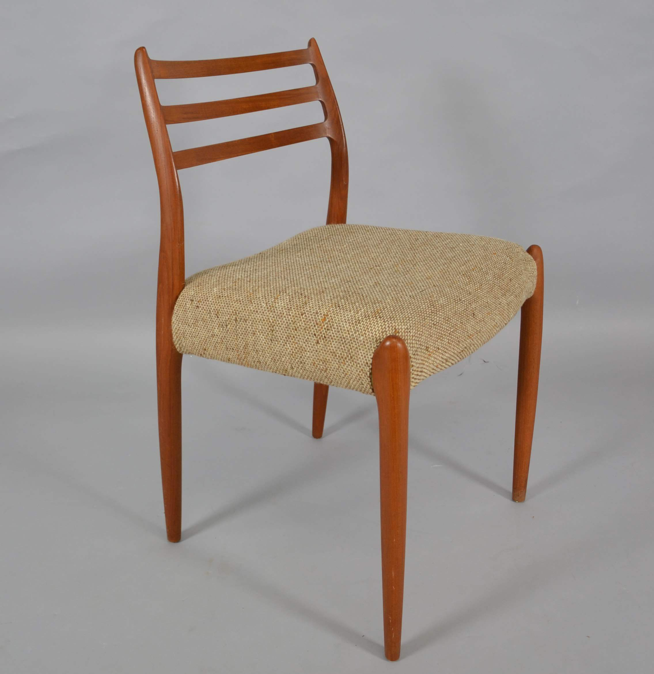 Niels O Möller Teakstuhl Furniture Armchairs Chairs Auctionet