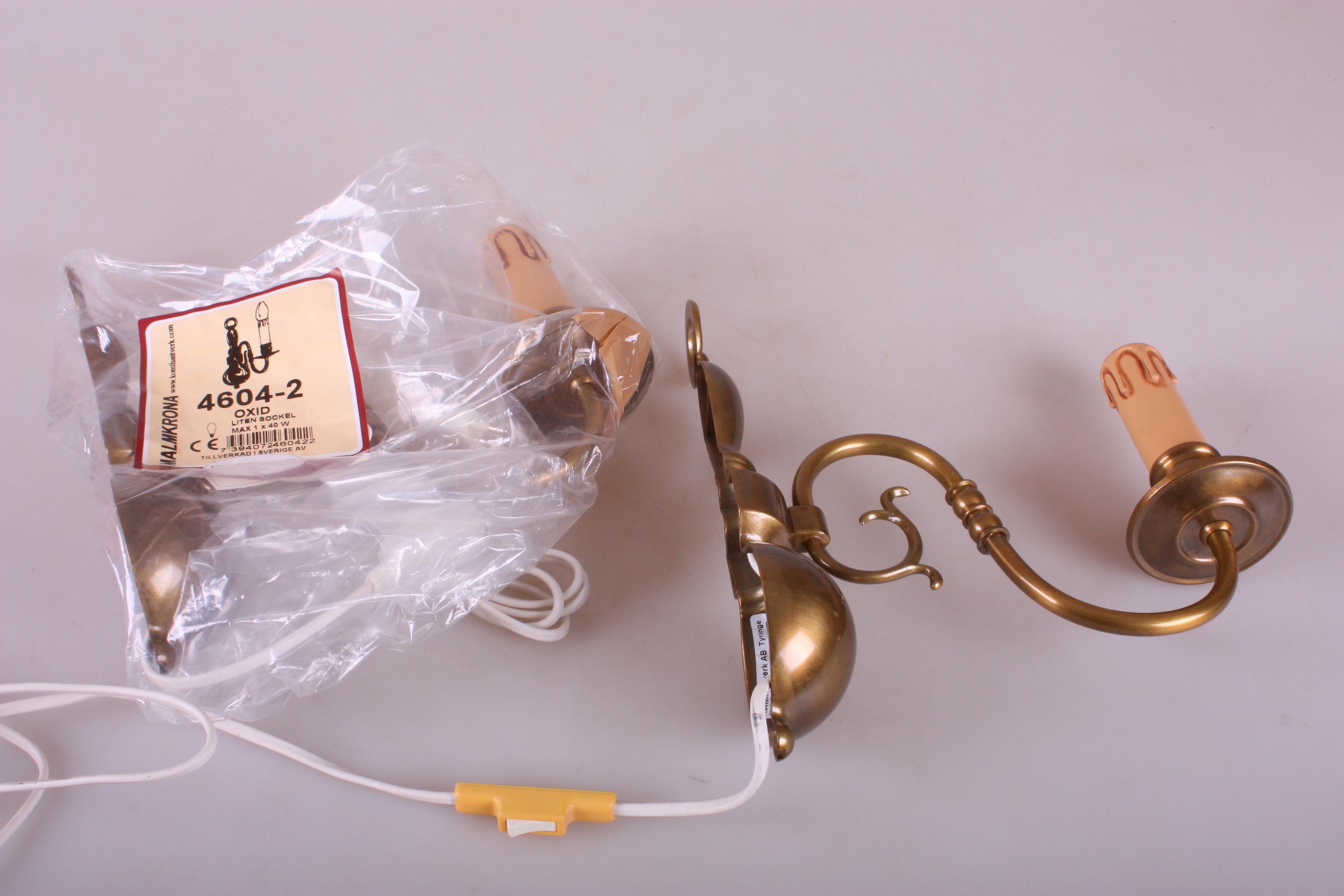 Lampetter Ett Par Konsthantverk Tyringe Lighting Lamps
