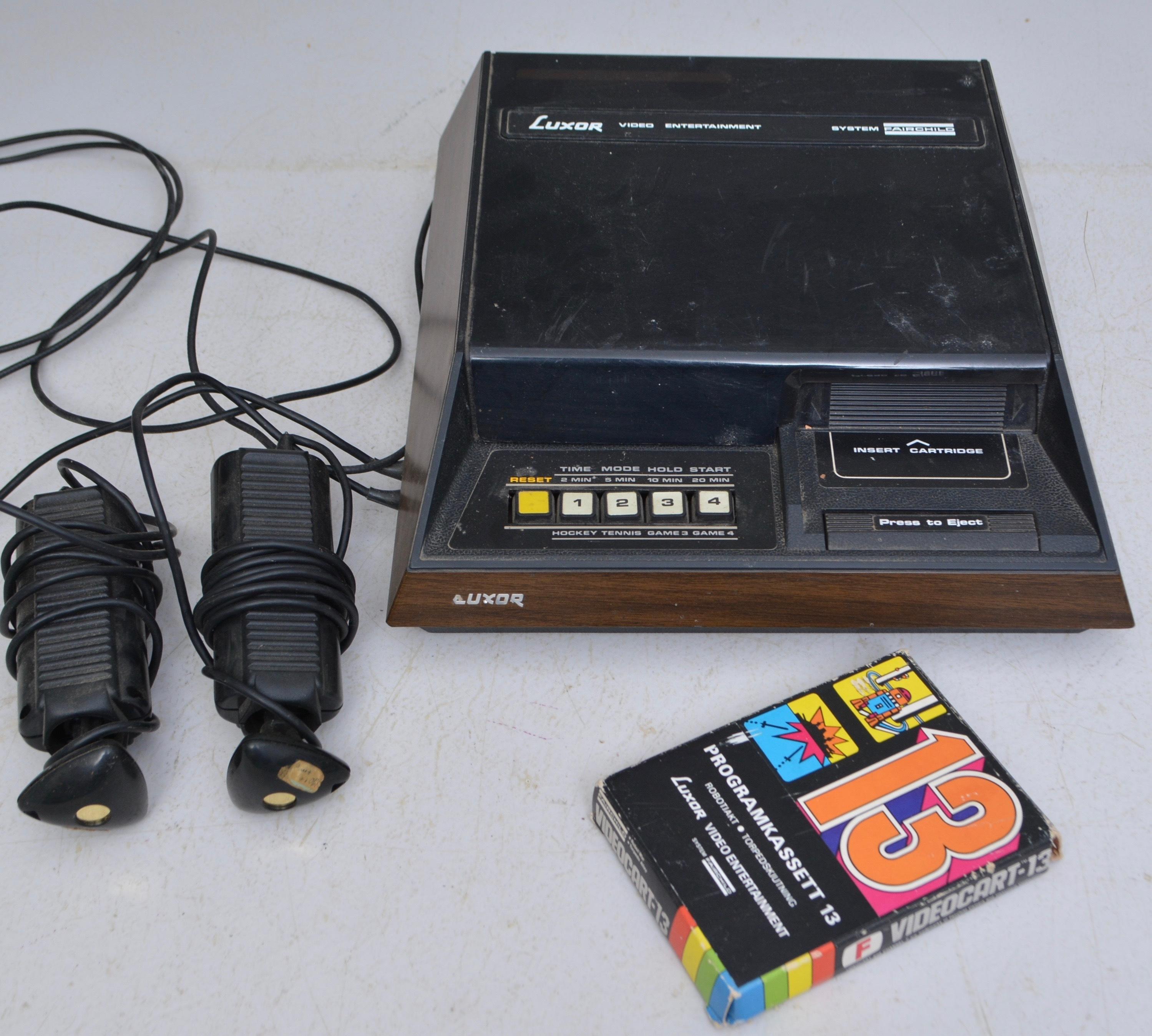 Ongekend TV-SPEL, Luxor retro. Other - Modern consumer electronics - Auctionet BH-83