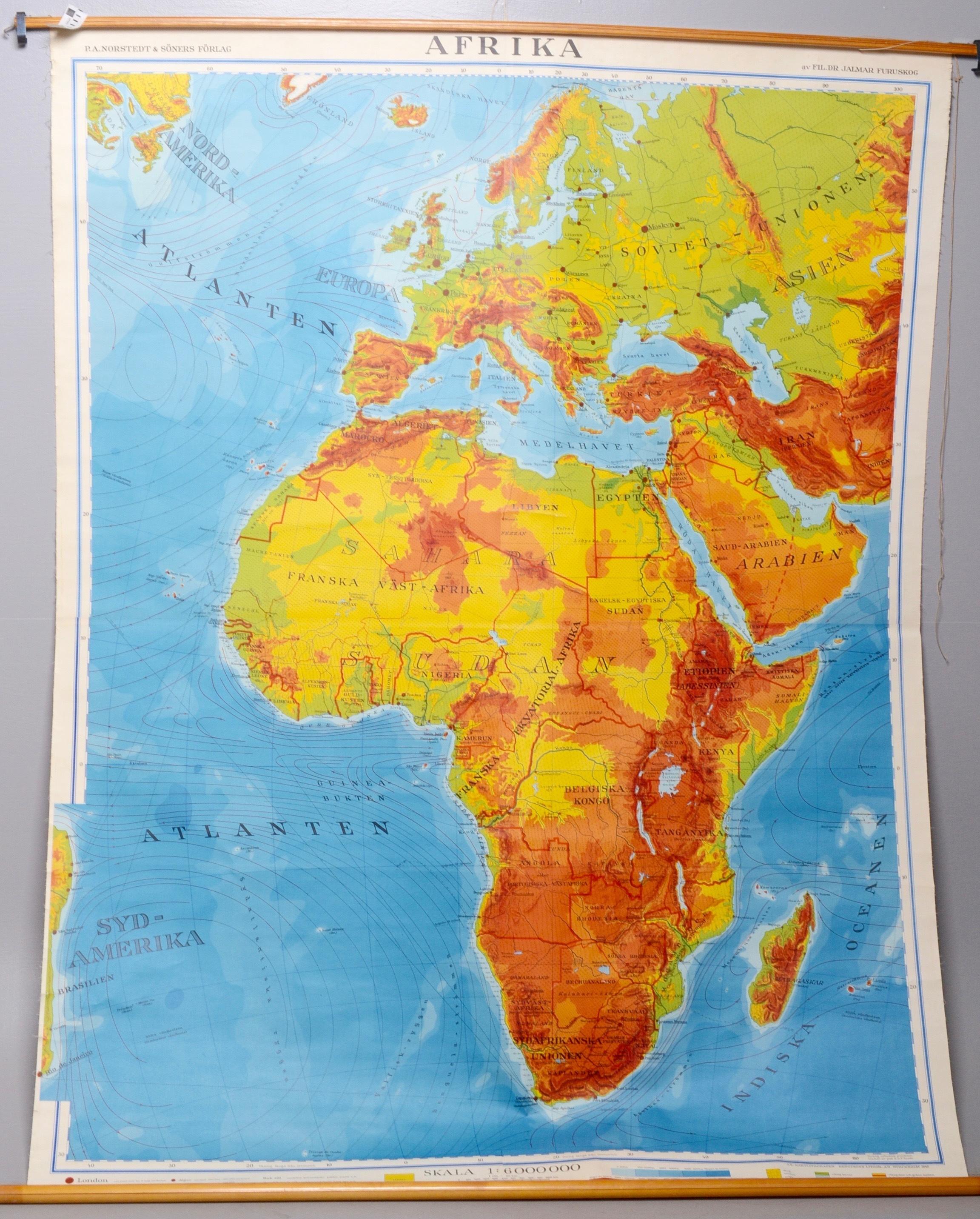 Karta Aten.Karta Nordstedt Books Maps Manuscripts Auctionet