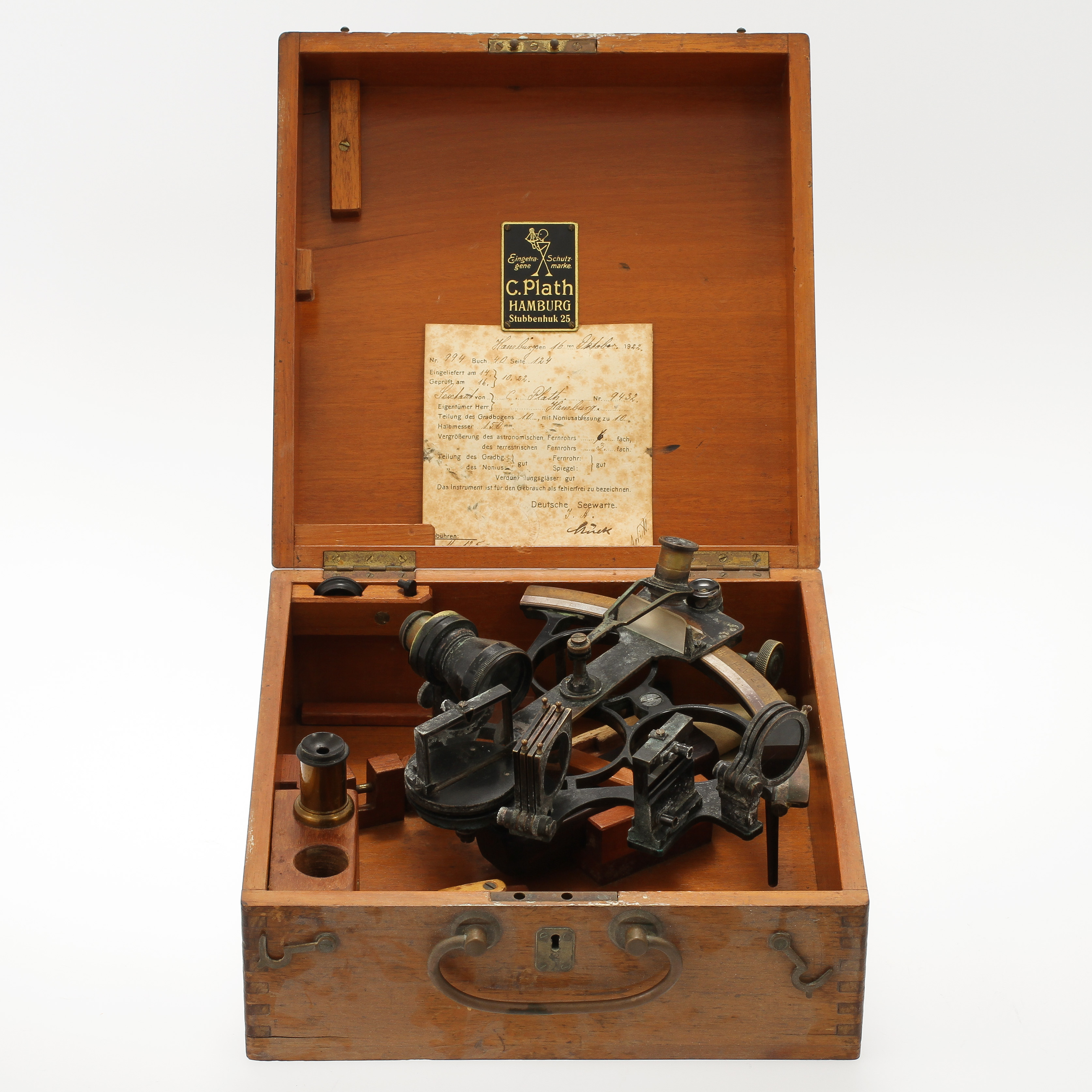 Images For 69999 Sextant C Plath Hamburg 1922 Auctionet
