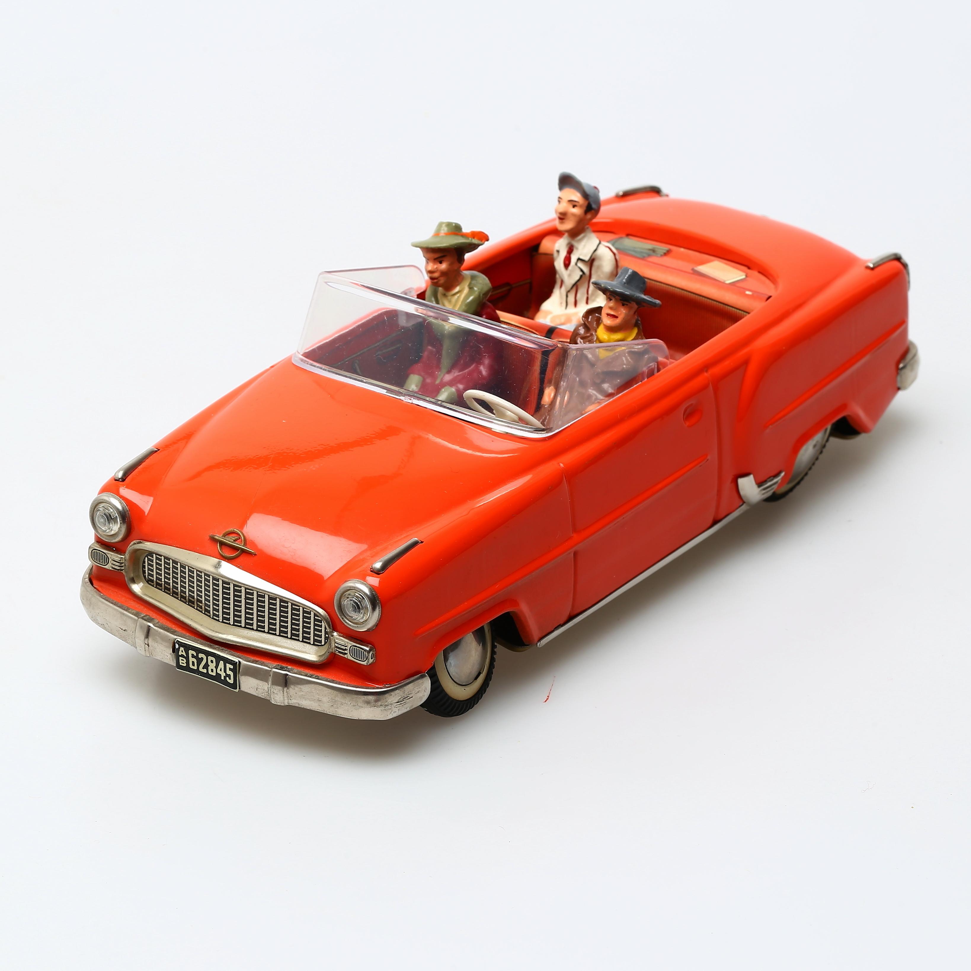 Arnold Opel Olympia Ovanlig Reprokartong Toys Auctionet
