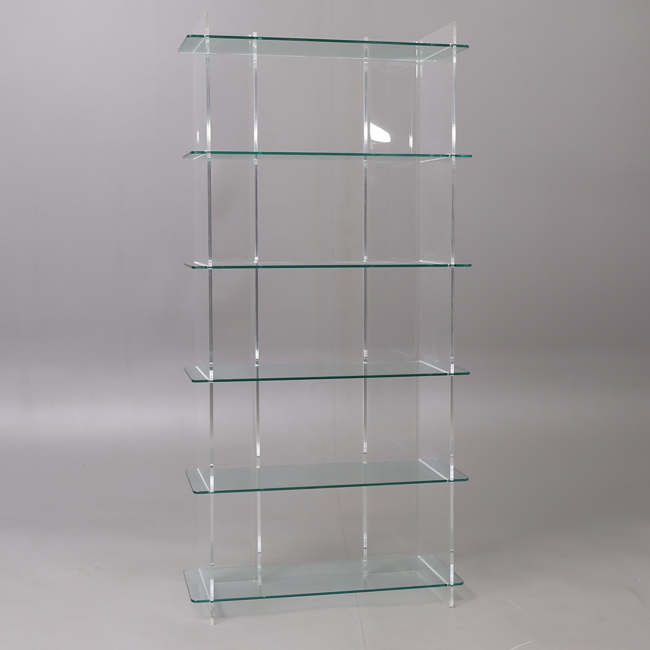 Välkända HYLLA, Plexiglas/glas, Fogia. Möbler - Skåp & Hyllor - Auctionet AO-23