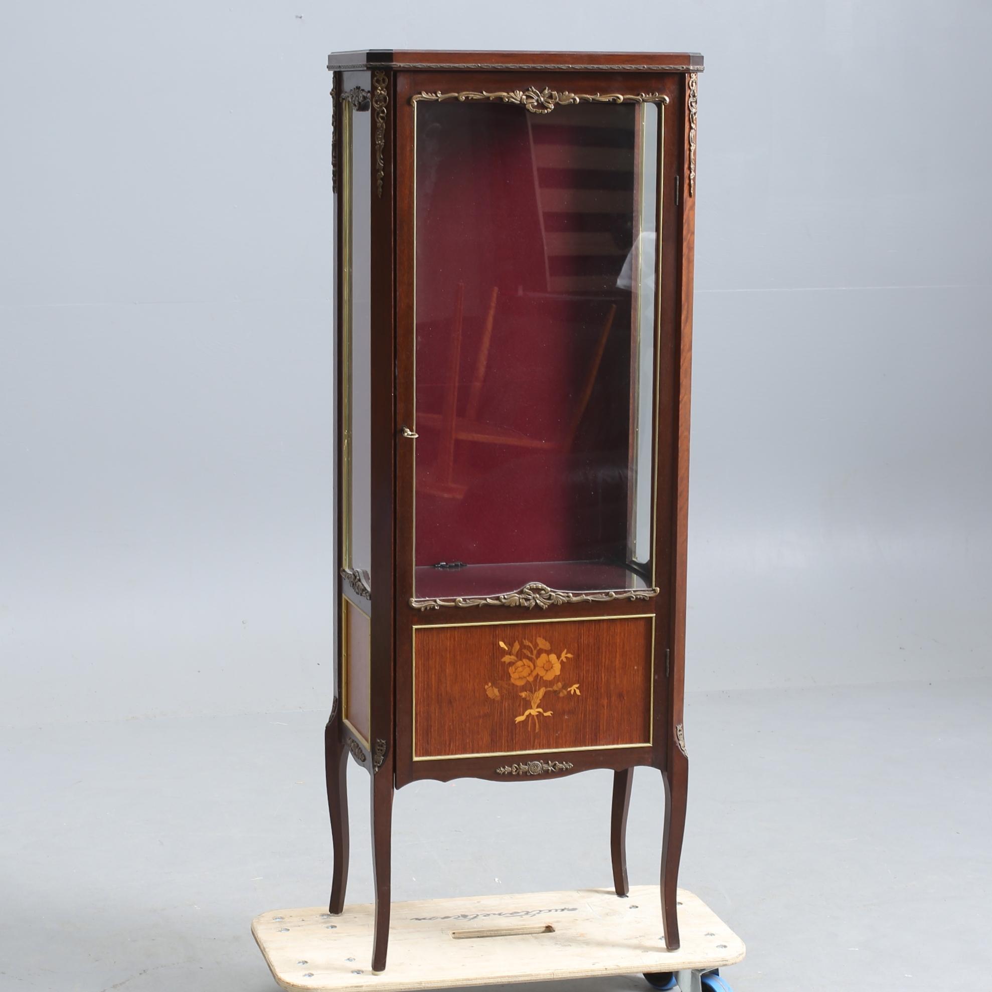 SkÅp Louise Seize Intarsidekor Bronser Furniture