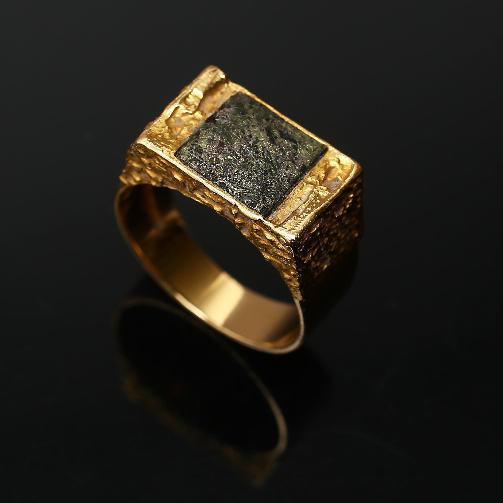 oslipad diamant ring