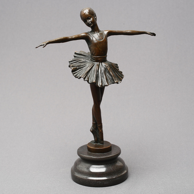 avtryckare tjock Drick vatten  Sculpture, bronze, ballerina, signed Milo, 2000s. Art - Sculptures -  Auctionet