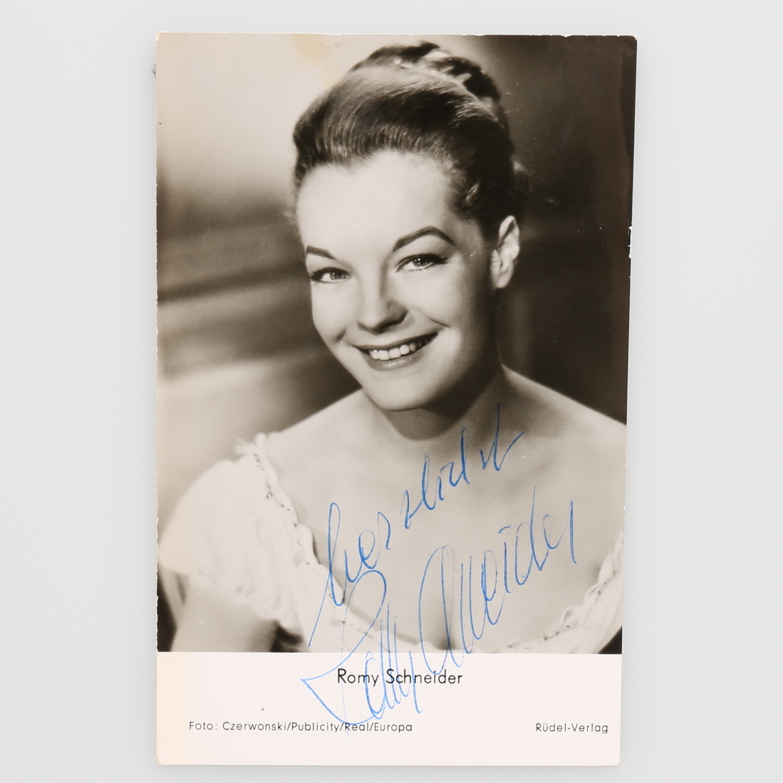 Autograph Romy Schneider Austria French Show Player 1938 1982 Books Maps Manuscripts Auctionet