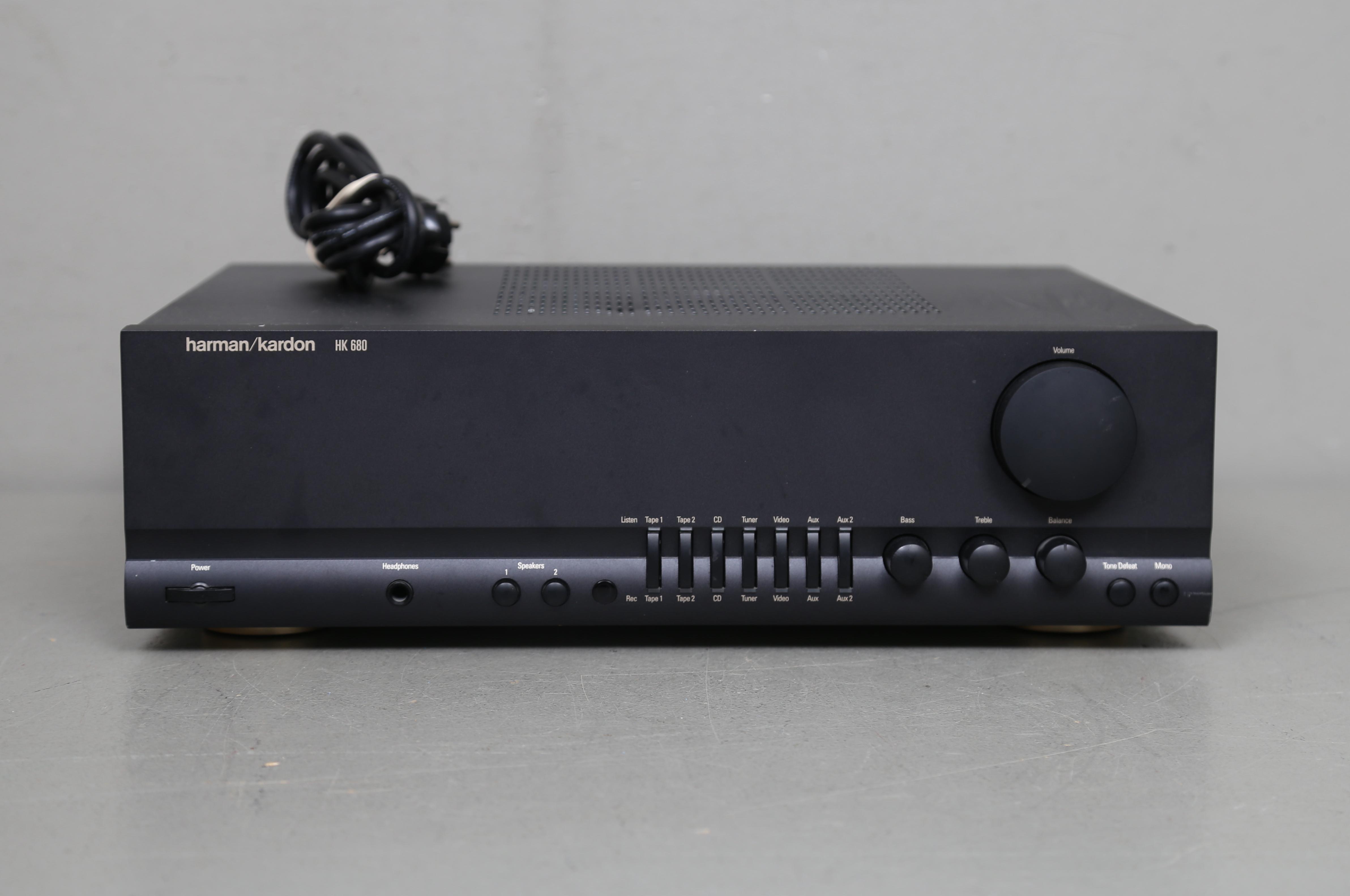 FÖRSTÄRKARE, Harman Kardon, HK 680  Other - Modern consumer