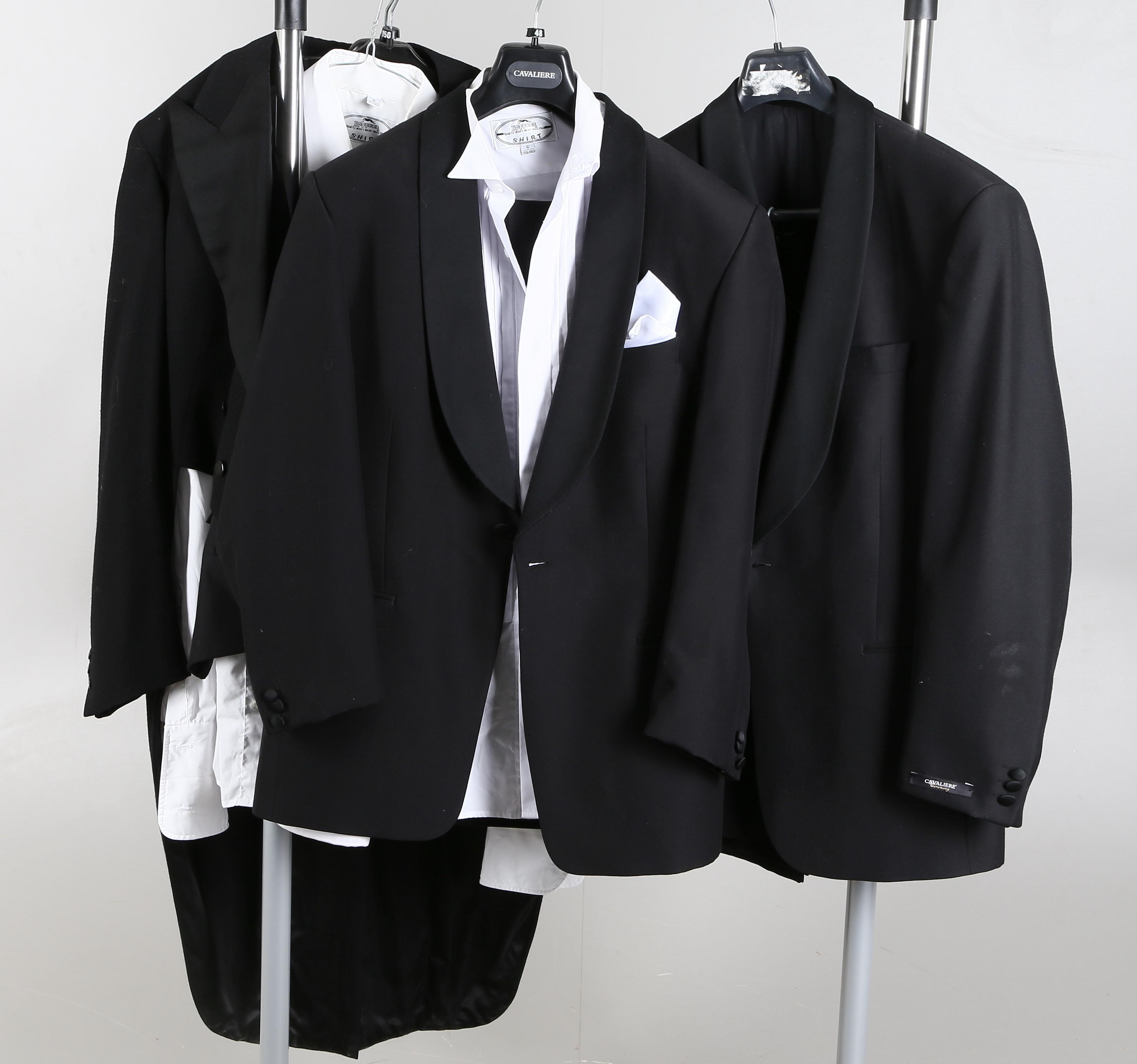 KAVAJER samt FRACK, 3 st. Vintage clothing & Accessories