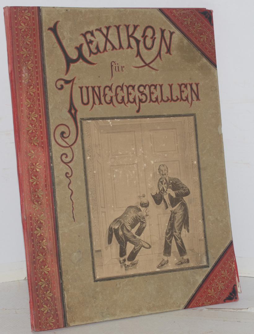 Lexikon für junggesellen 1890  Books, Maps & Manuscripts - Auctionet