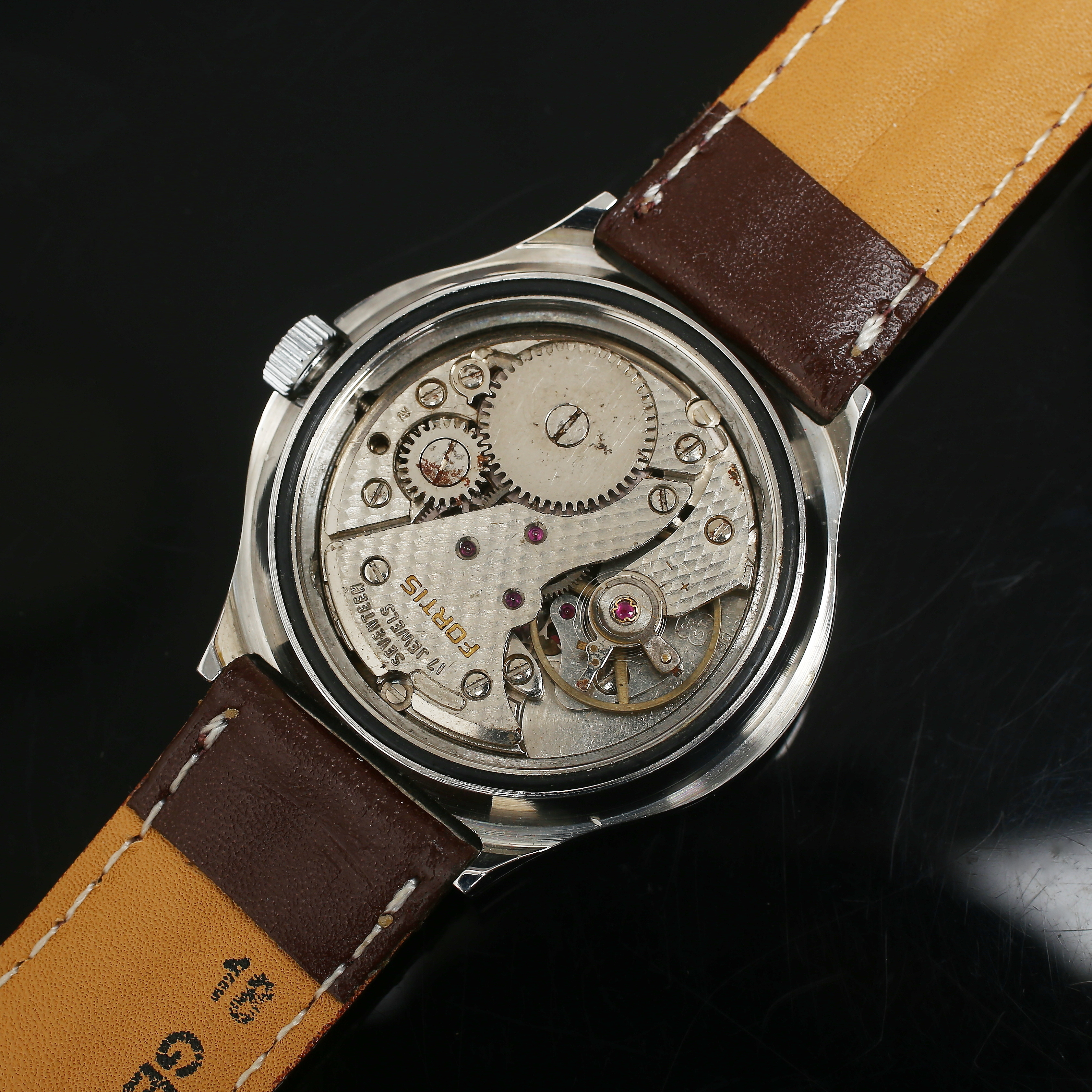 images for 821870 armbandsur fortis inabloc manuell auctionet