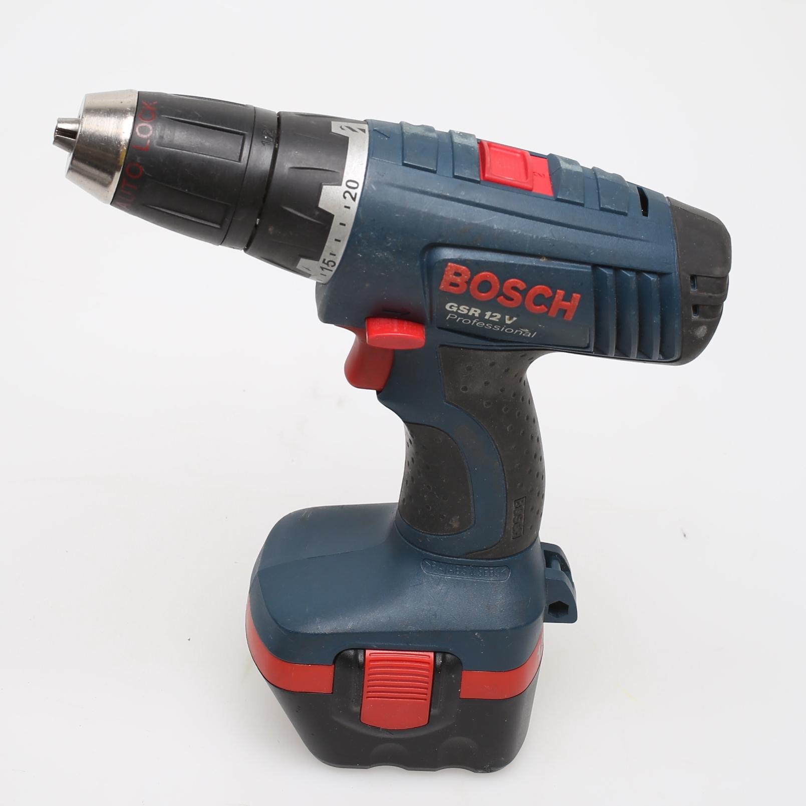 Kanon SKRUVDRAGARE, Bosch GSR 12 V, extra batteri. Other - Modern AI-97