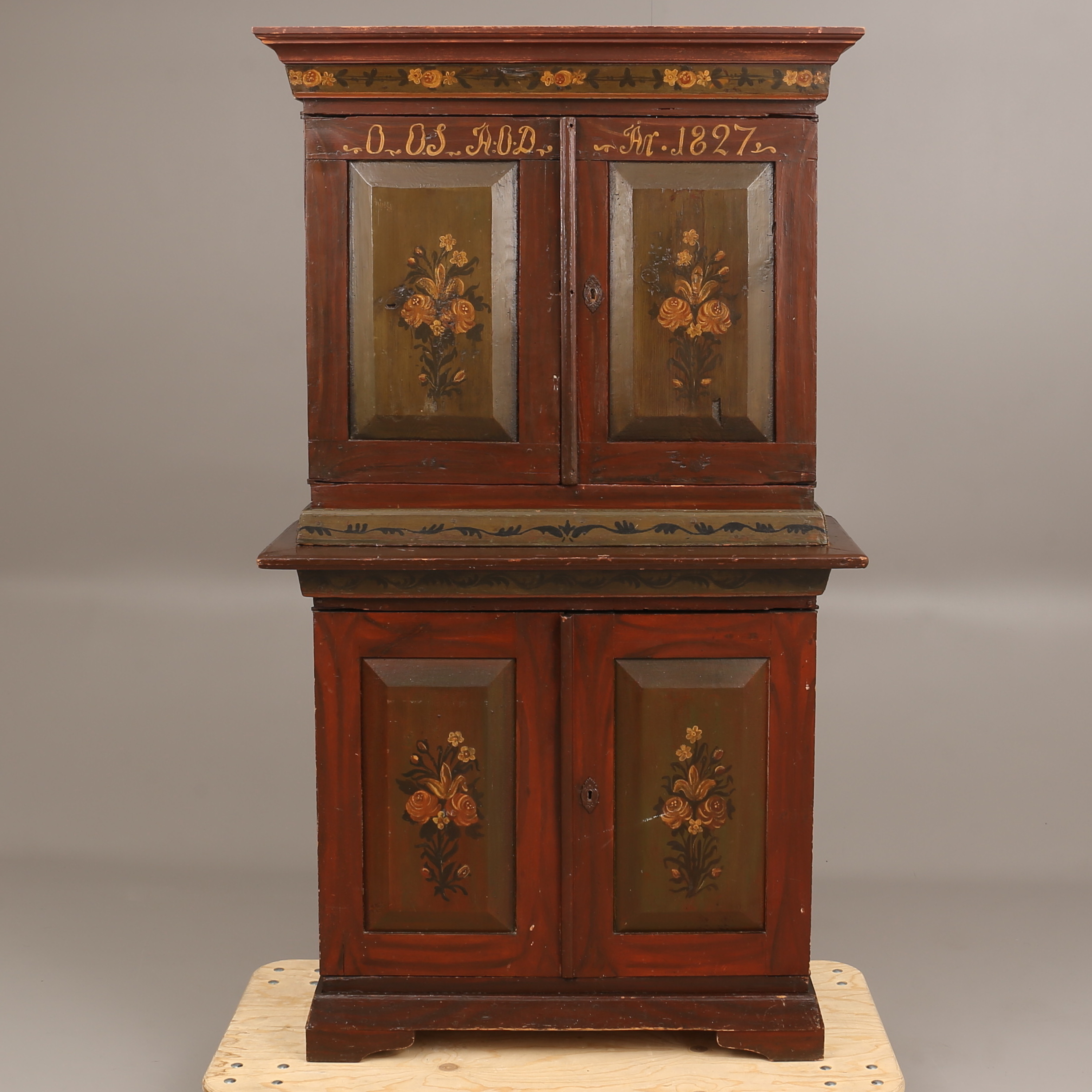SK…P allmoge 1800 tal Furniture Cupboards & shelves Auctionet