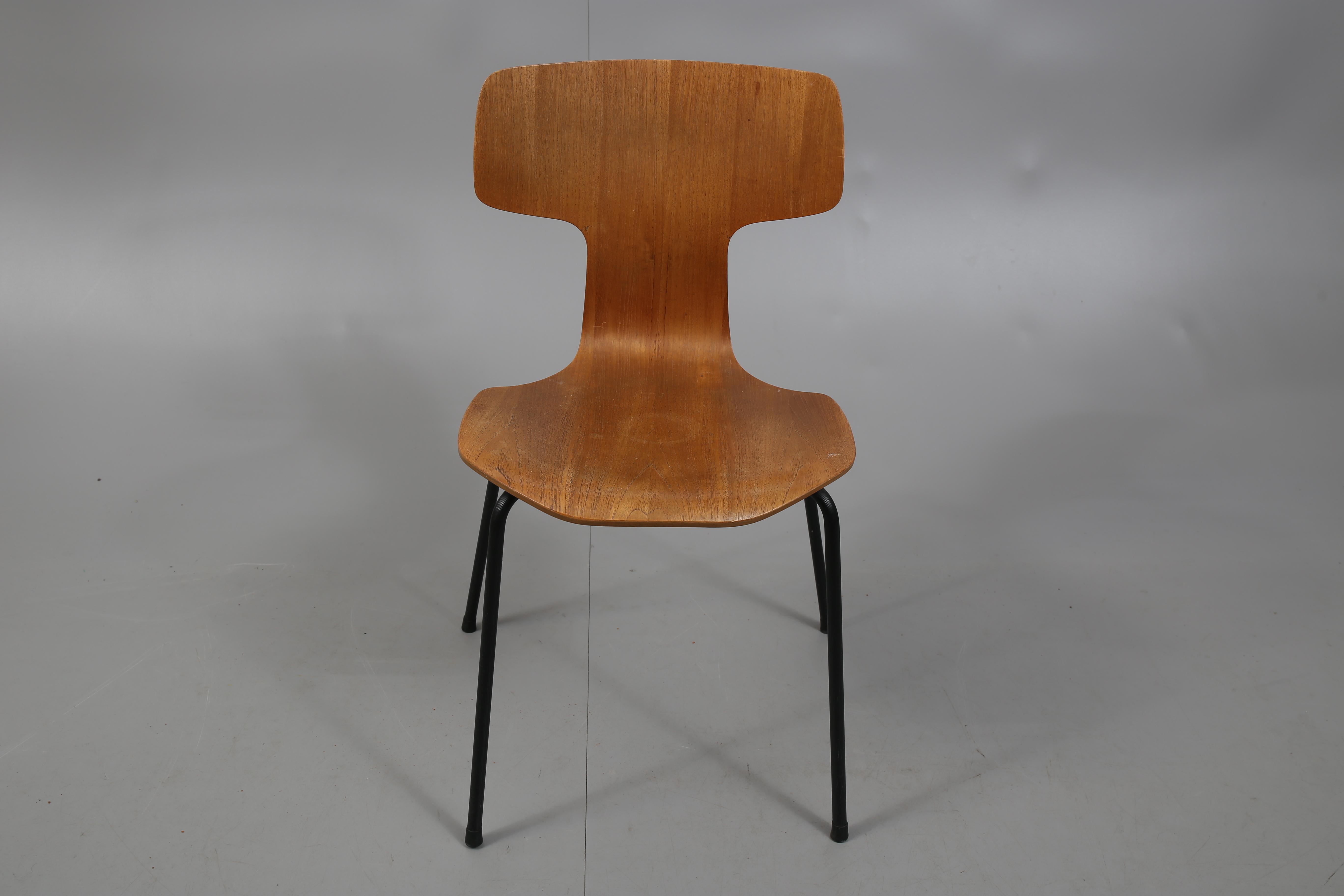 Stol Teak T Stol Arne Jacobsen Fritz Hansen Furniture