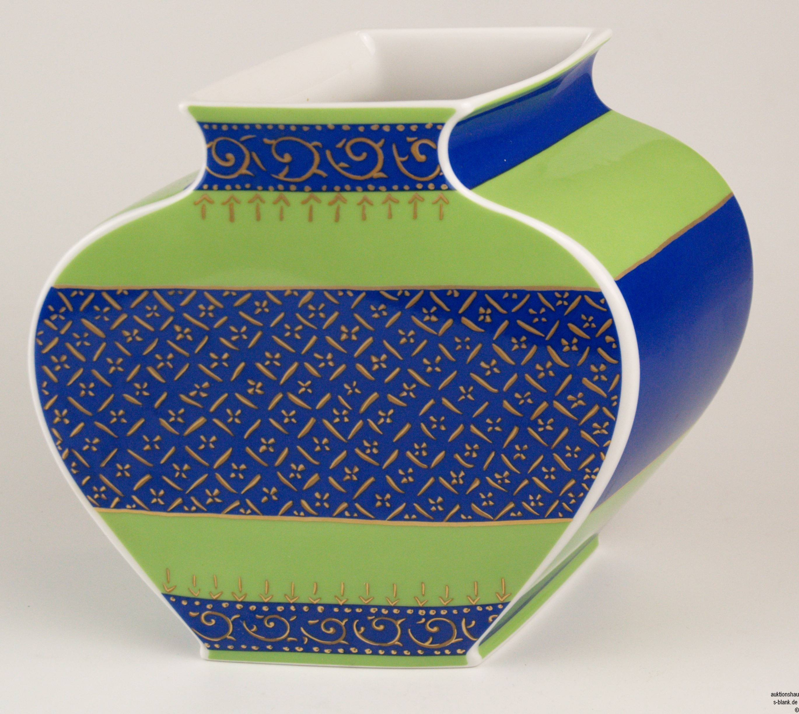 Rosenthal Vase Kusumam Ceramics Porcelain European Auctionet