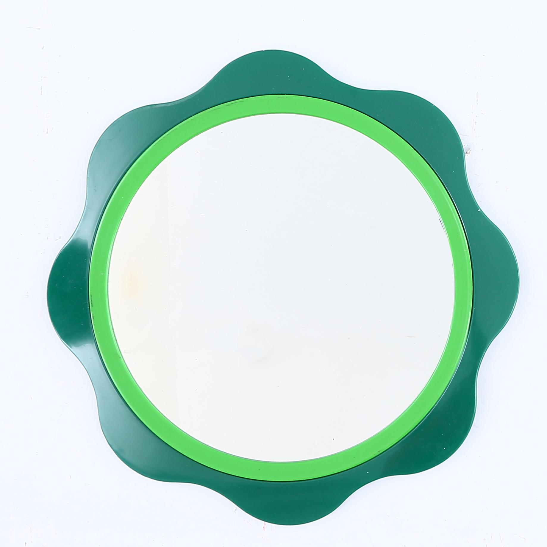 Attraktiva SPEGEL, plast, Finland. Speglar - Auctionet JX-92