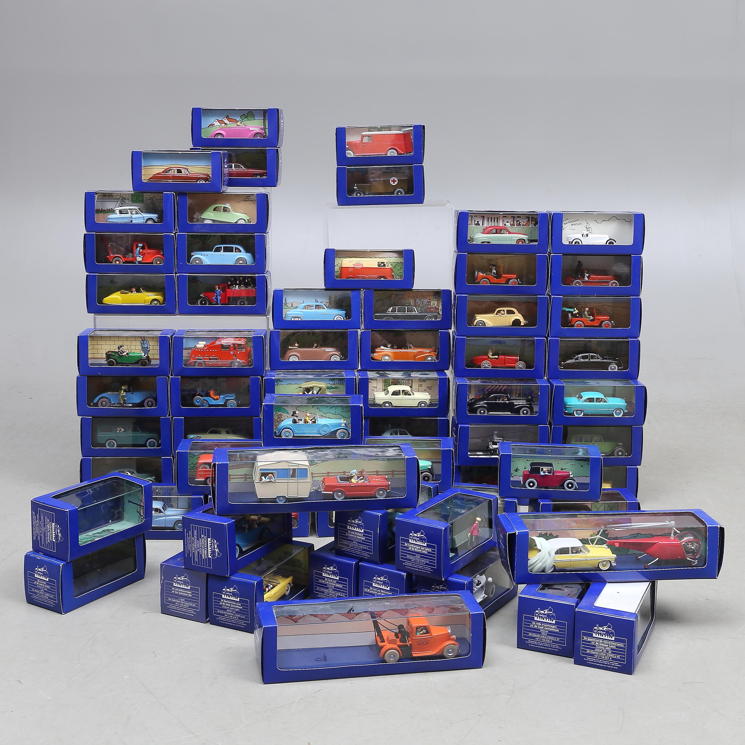 tintin komplet samling