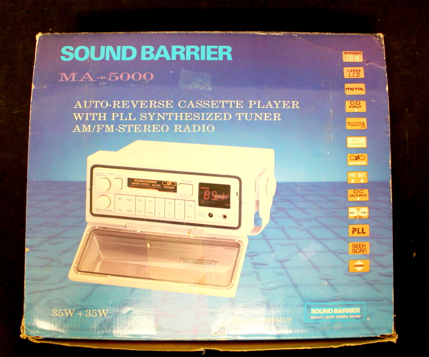 RADIO, Sound Barrier, MA-5000 Marine Stereo  Other - Technica