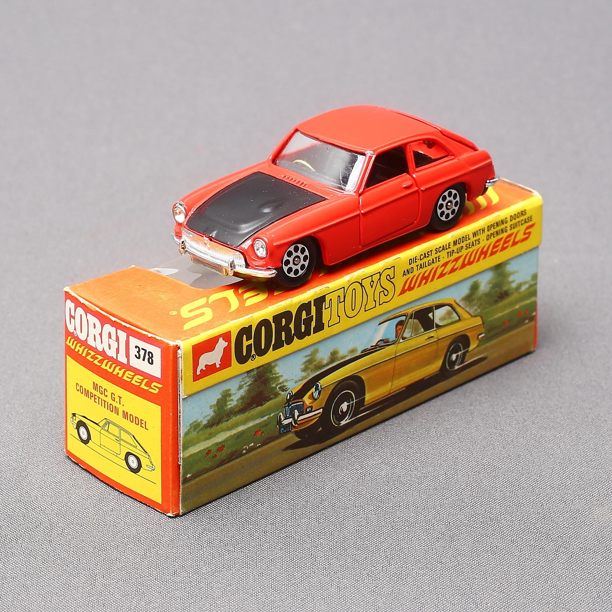 CORGI  leksaksbil, 378, MGC G T  Competition Model