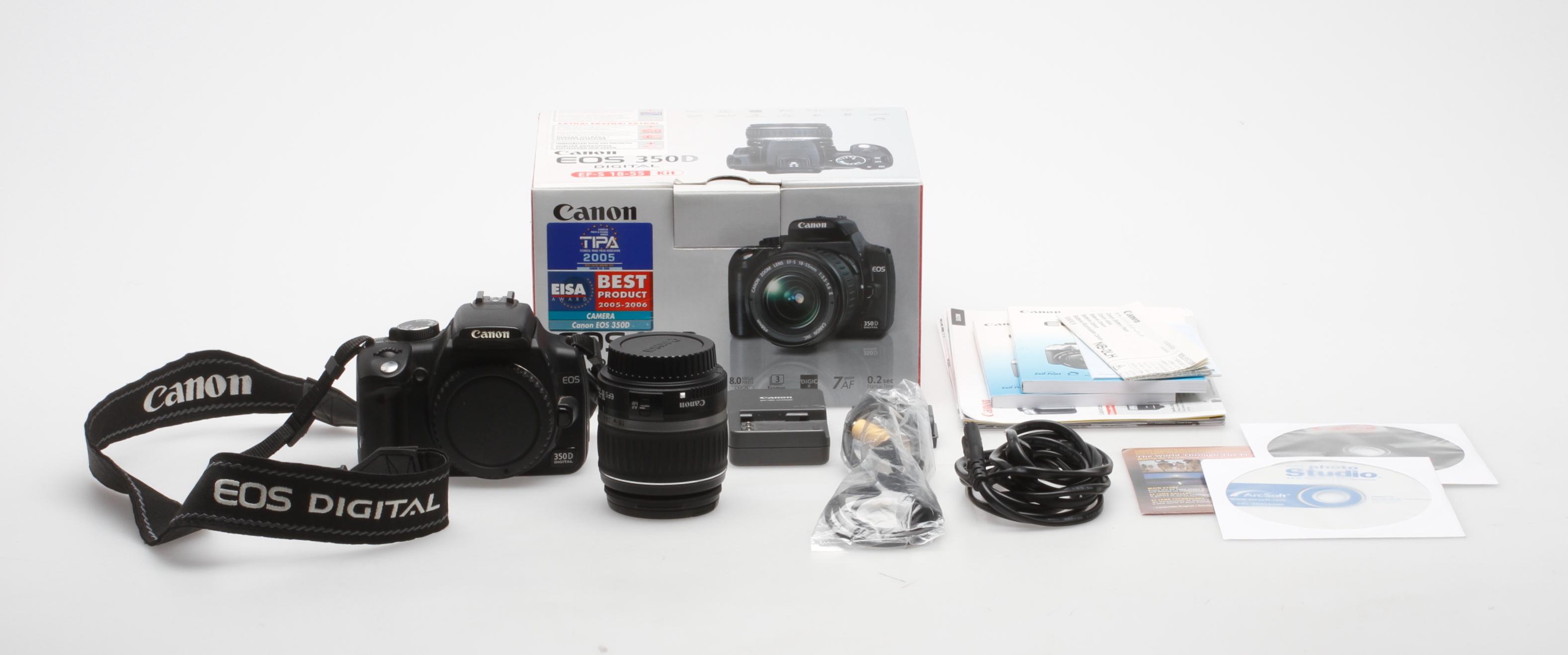 Images for 97939  DIGITAL SYSTEMKAMERA, EOS 350D, 18-55mm
