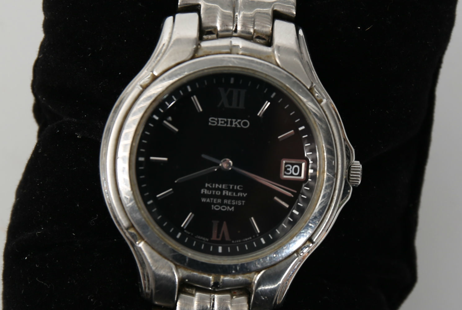 ARMBANDSUR, herr, automatisk, Seiko Kinetic Auto Relay  Clocks