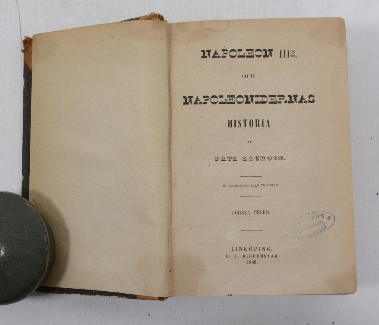 Napoleon III:s och napoleonidernas historia  Books, Maps
