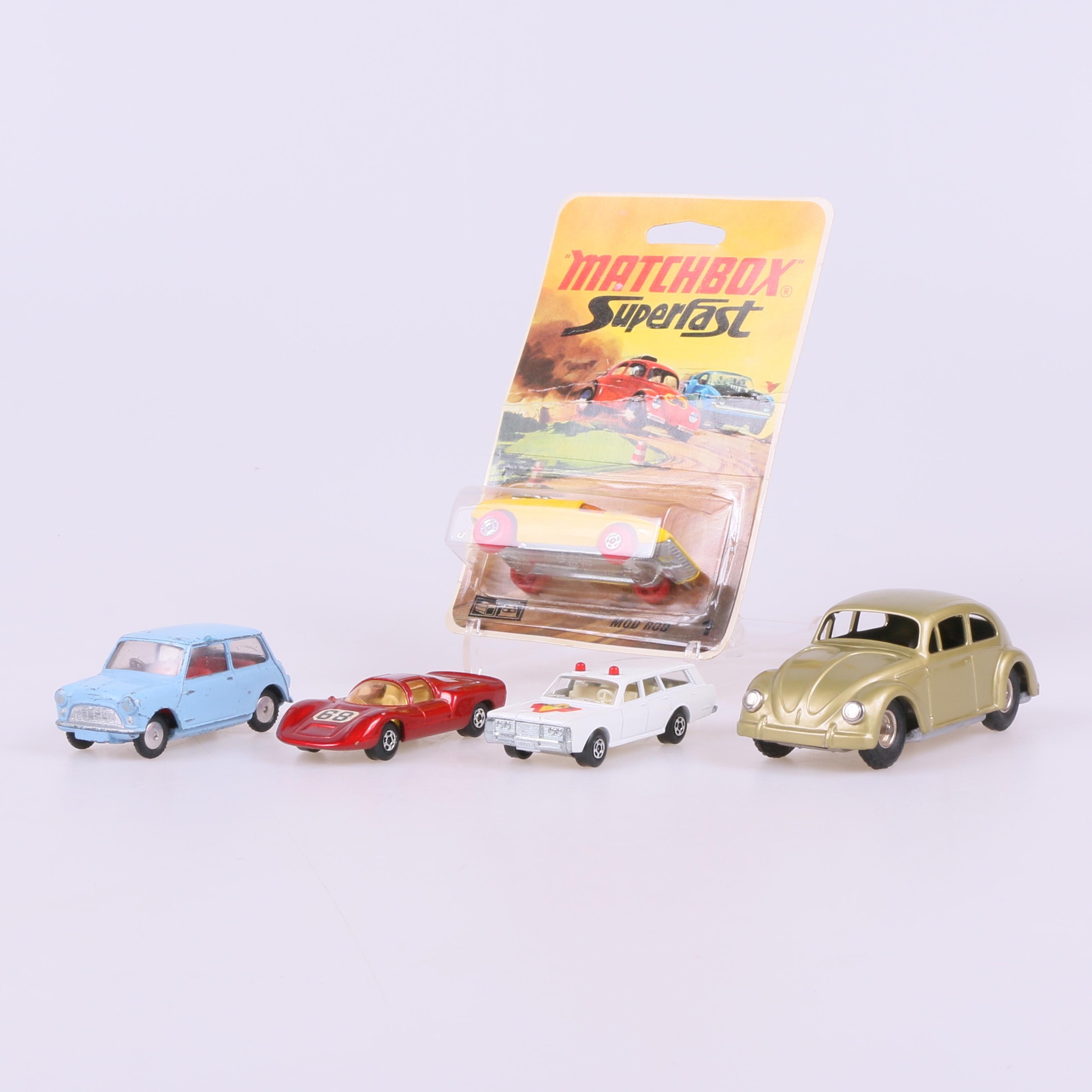 Leksaksbilar 5 St Delvis Matchbox Toys Auctionet
