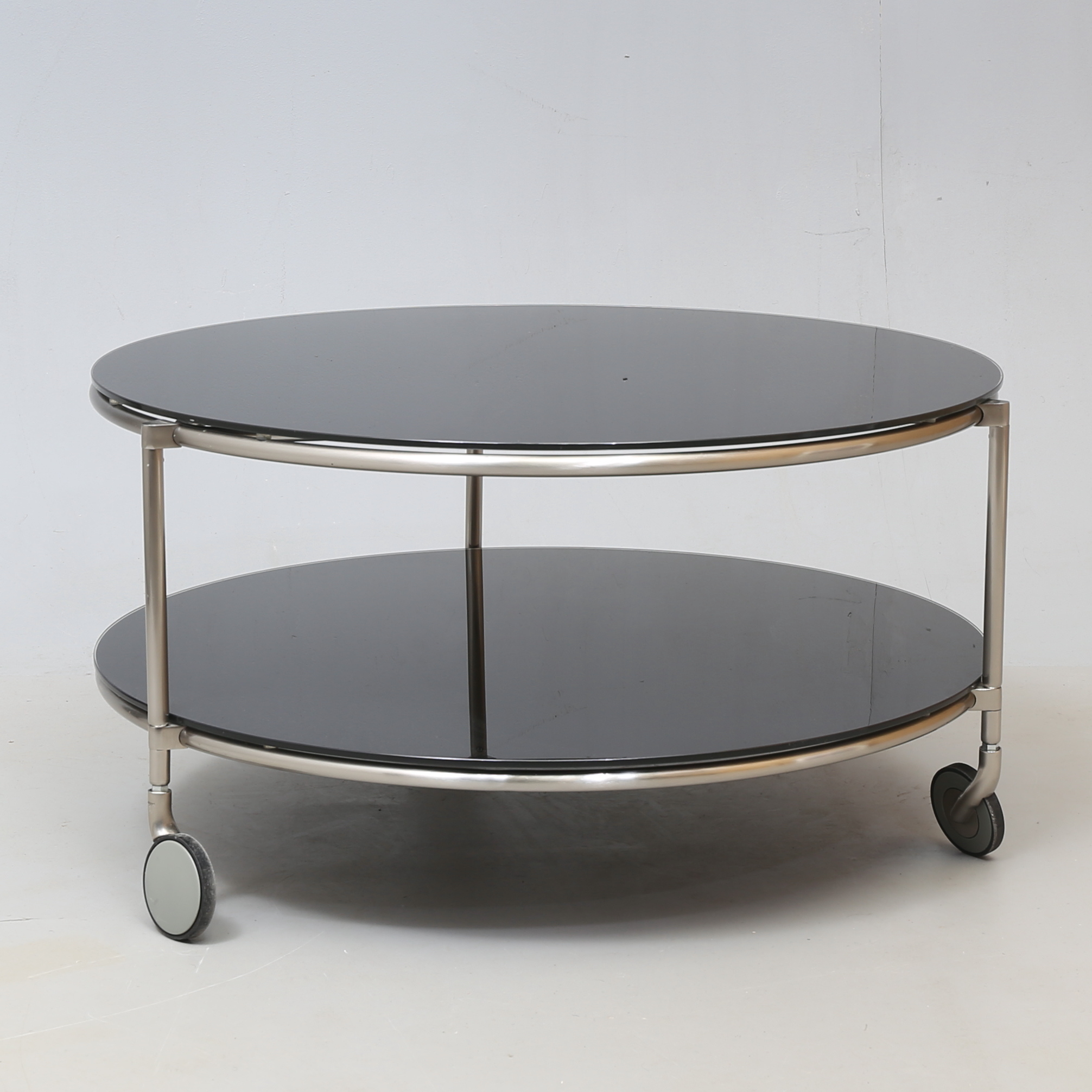 Table Metal And Colored Glass Strind Ikea Furniture Tables Auctionet